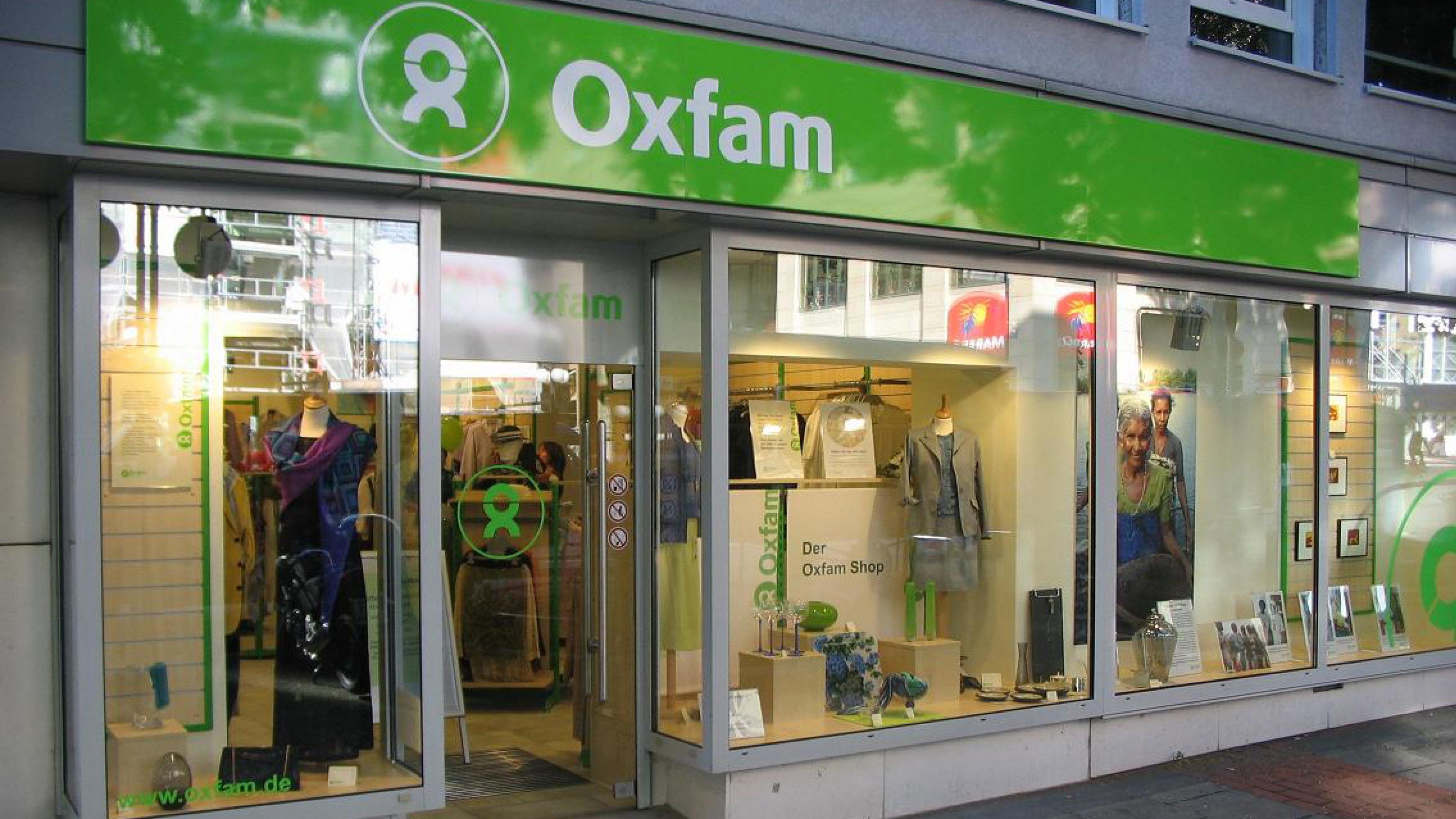 Oxfam Shop Stuttgart - Außenansicht