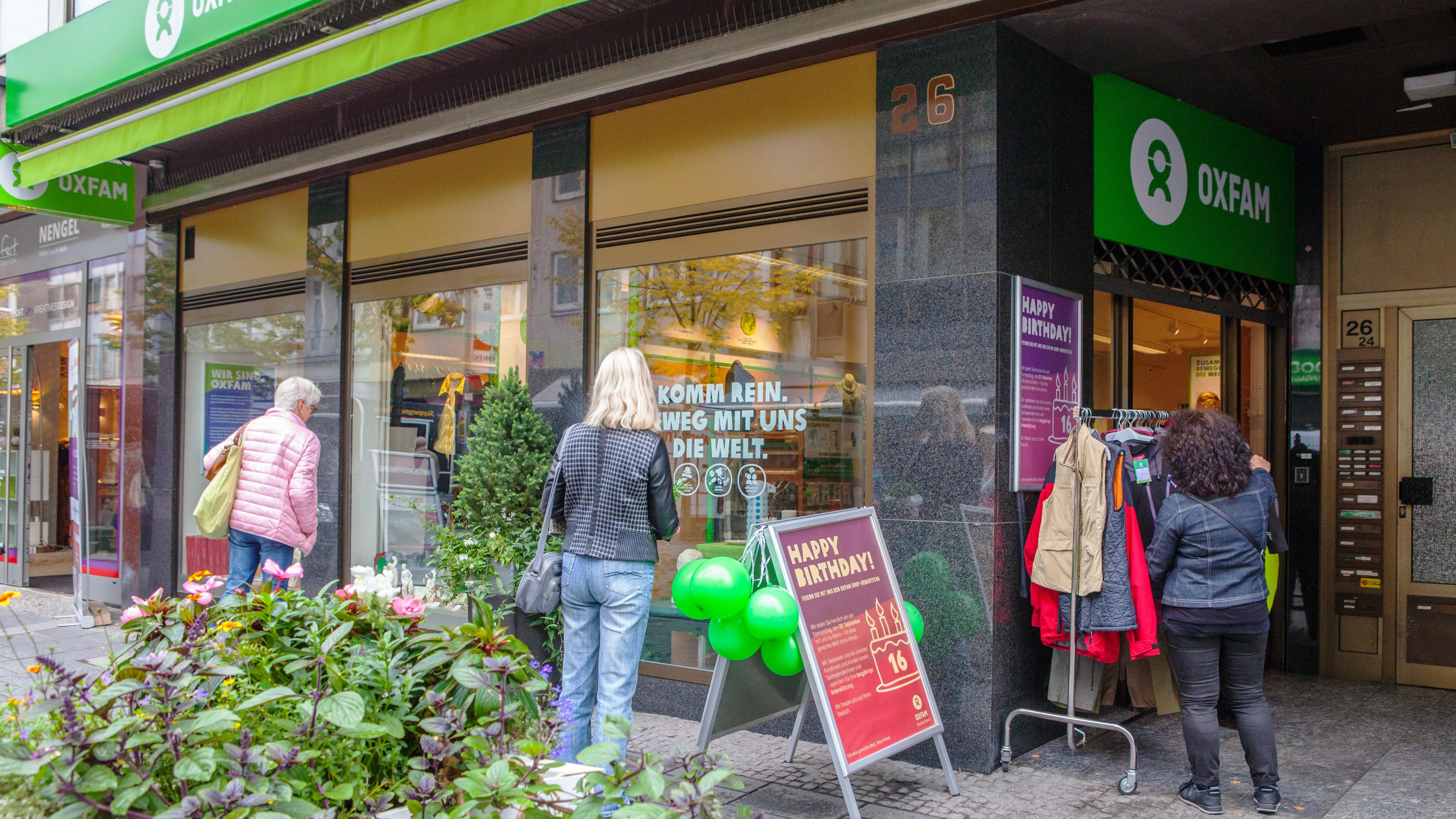 Oxfam Shop Koblenz - Außenansicht