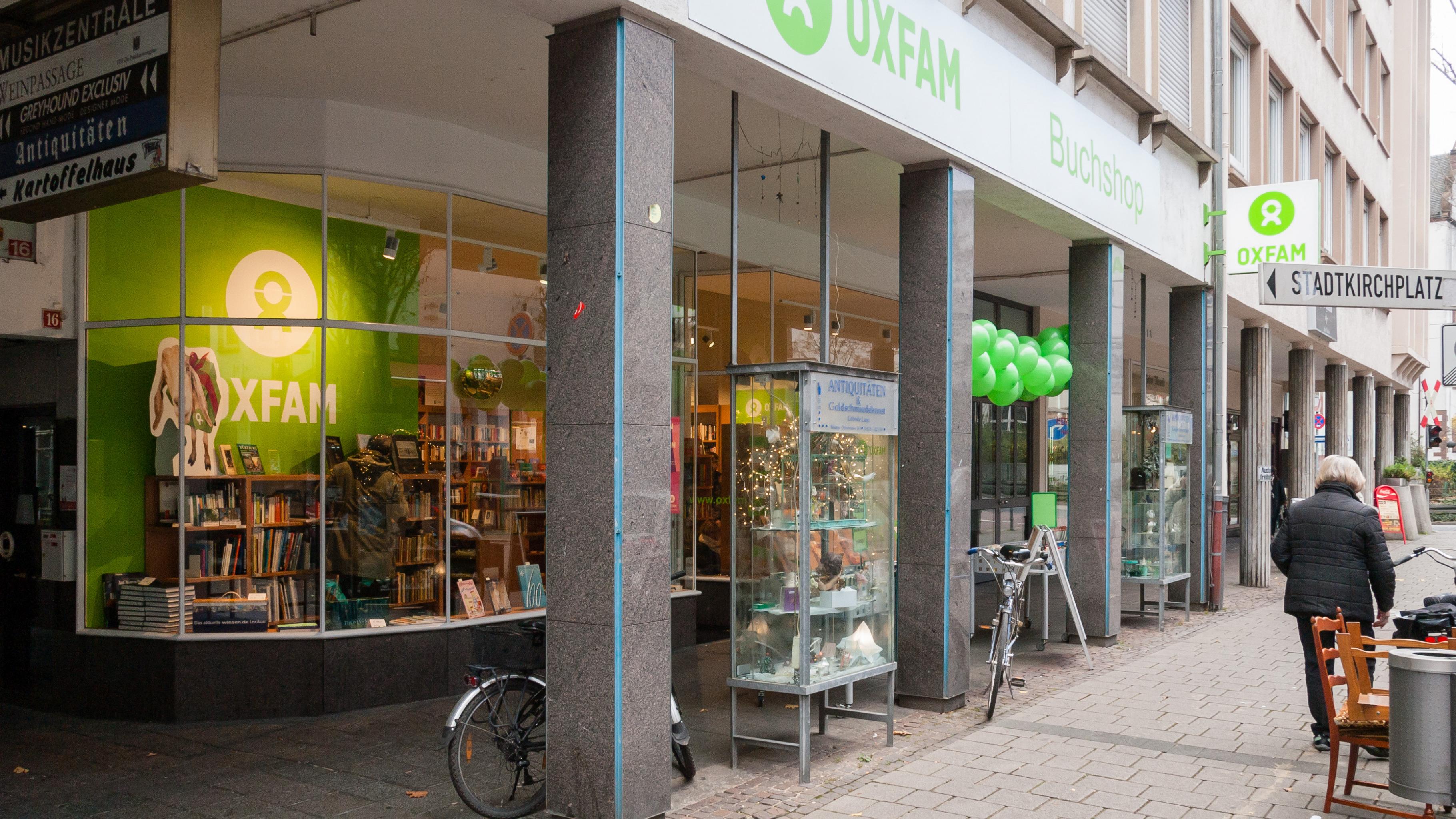 Gebrauchte Bucher Kaufen Spenden In Darmstadt Oxfam Buchshop