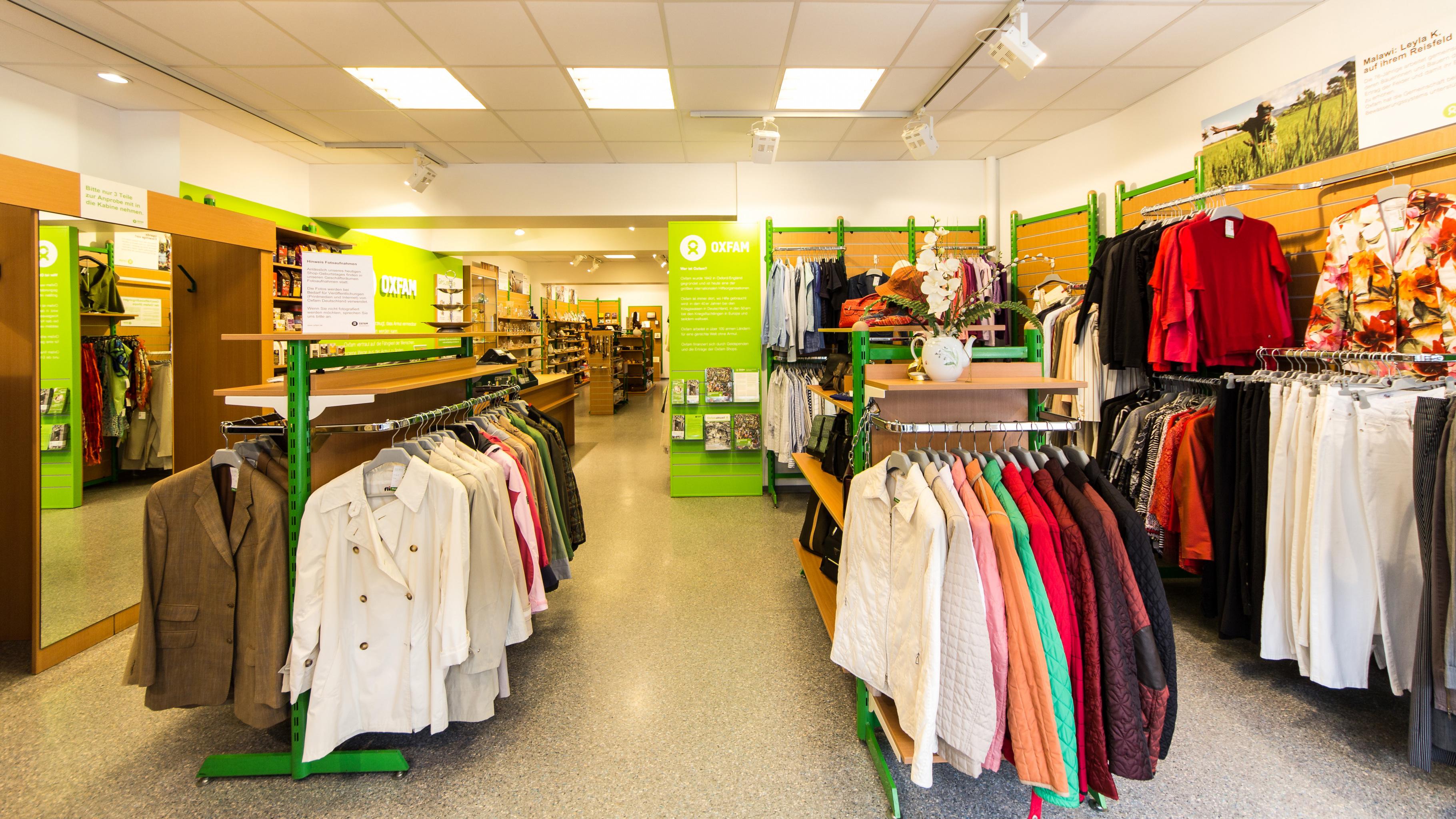 Oxfam Shop Hannover - Innenansicht