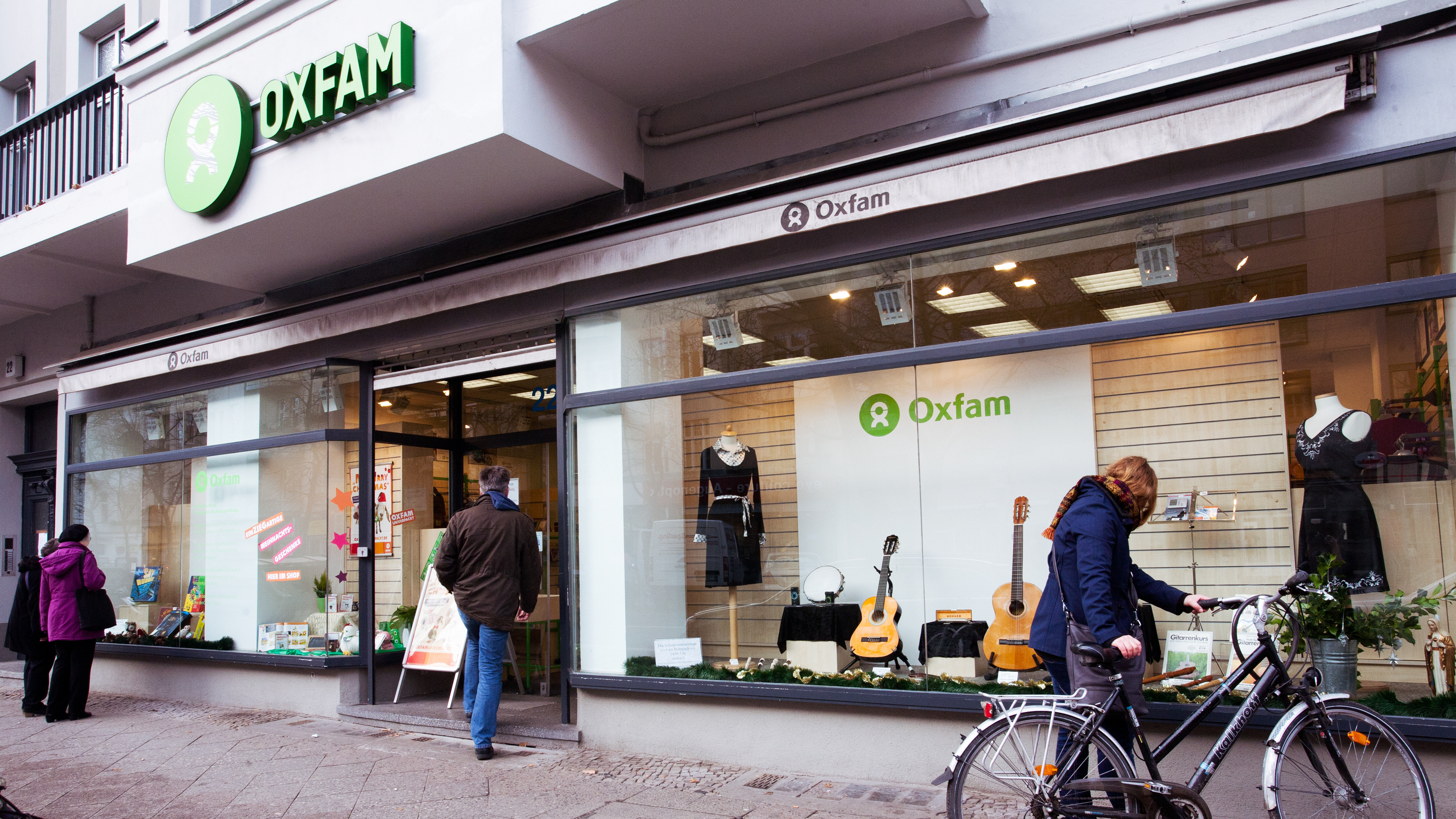 Oxfam Shop Berlin-Schöneberg - Außenansicht