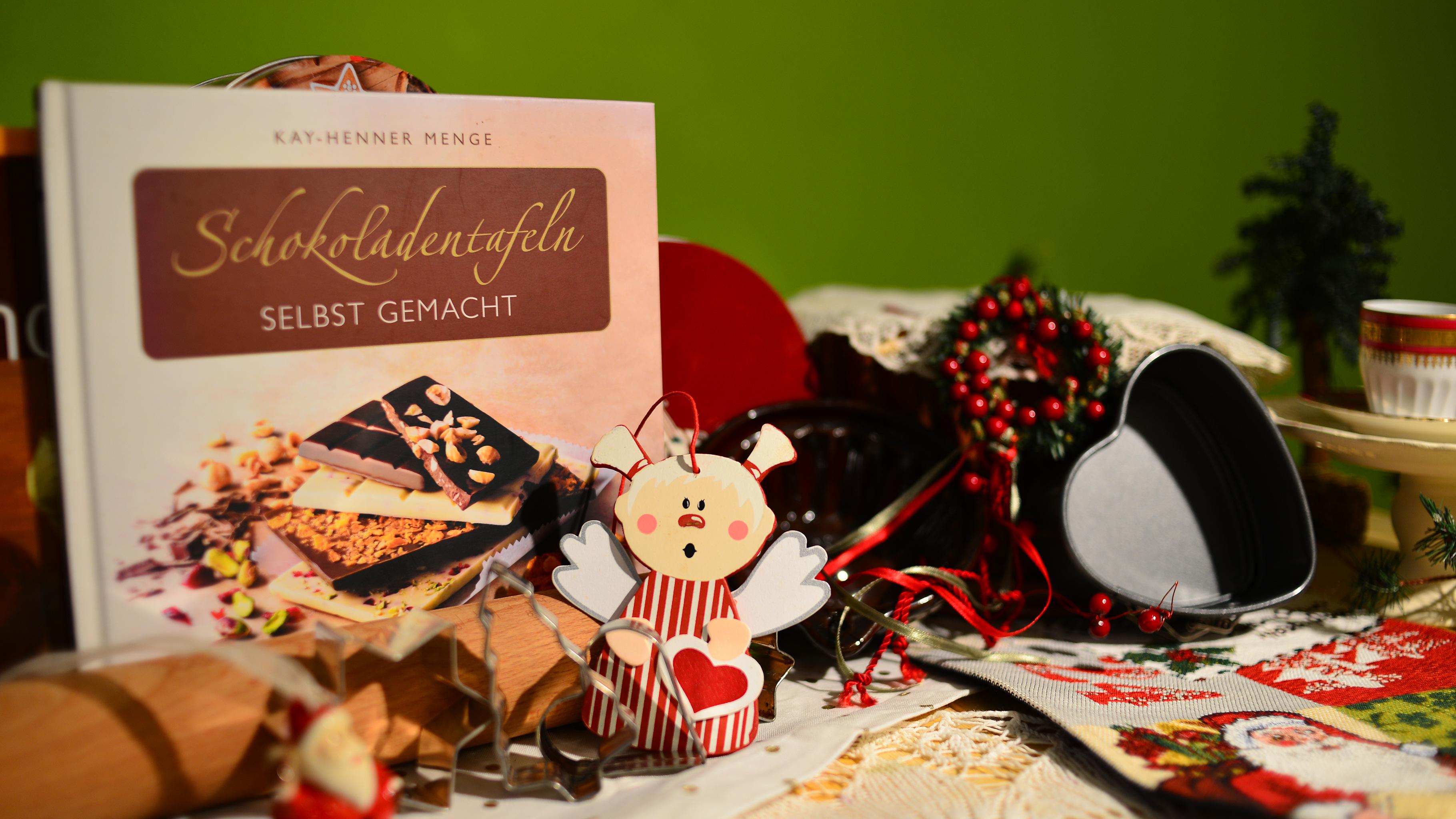 Weihnachtsdekoration aus dem Oxfam Shop