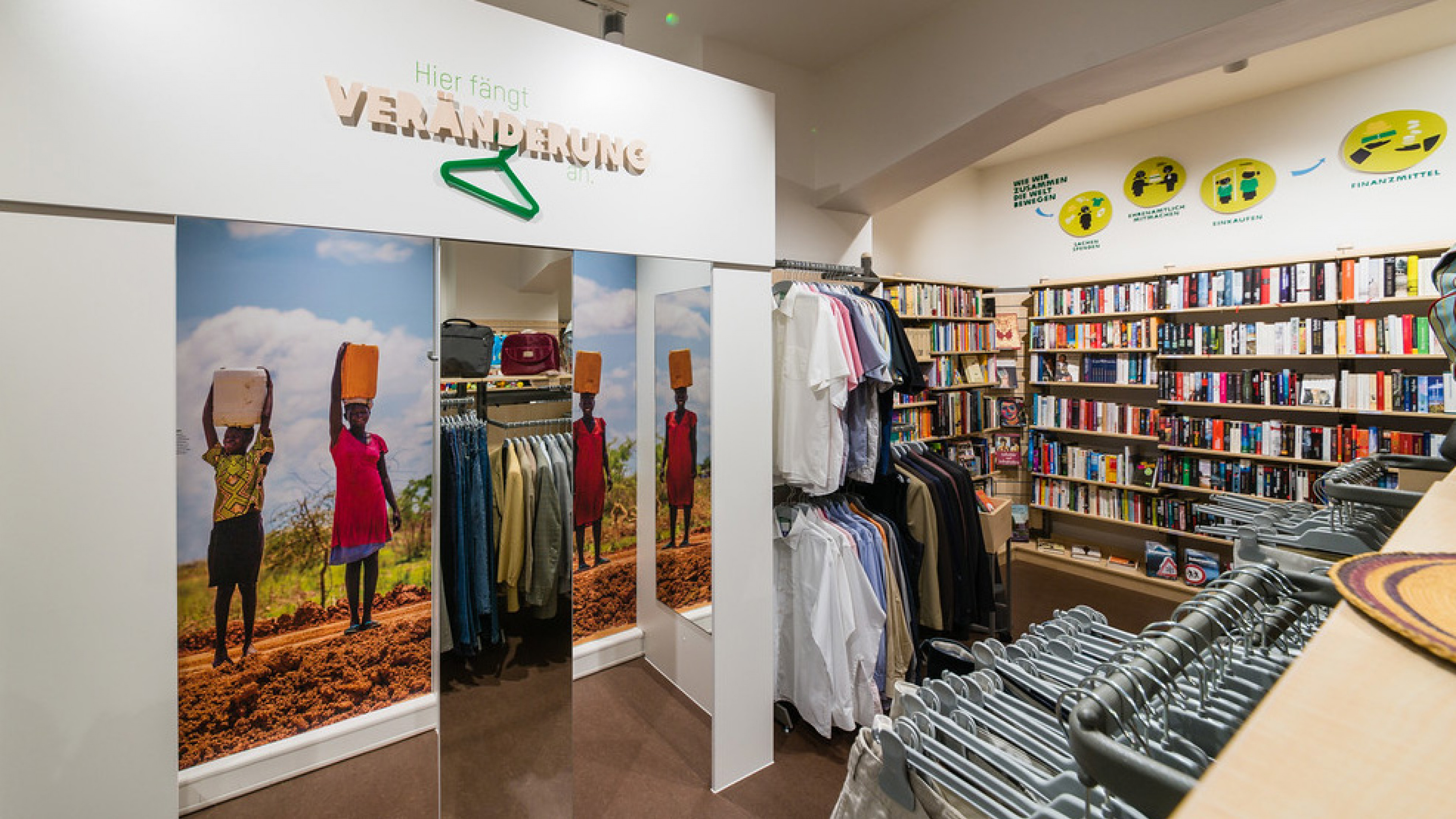 Oxfam Shop Frankfurt-Nordend - Innenansicht