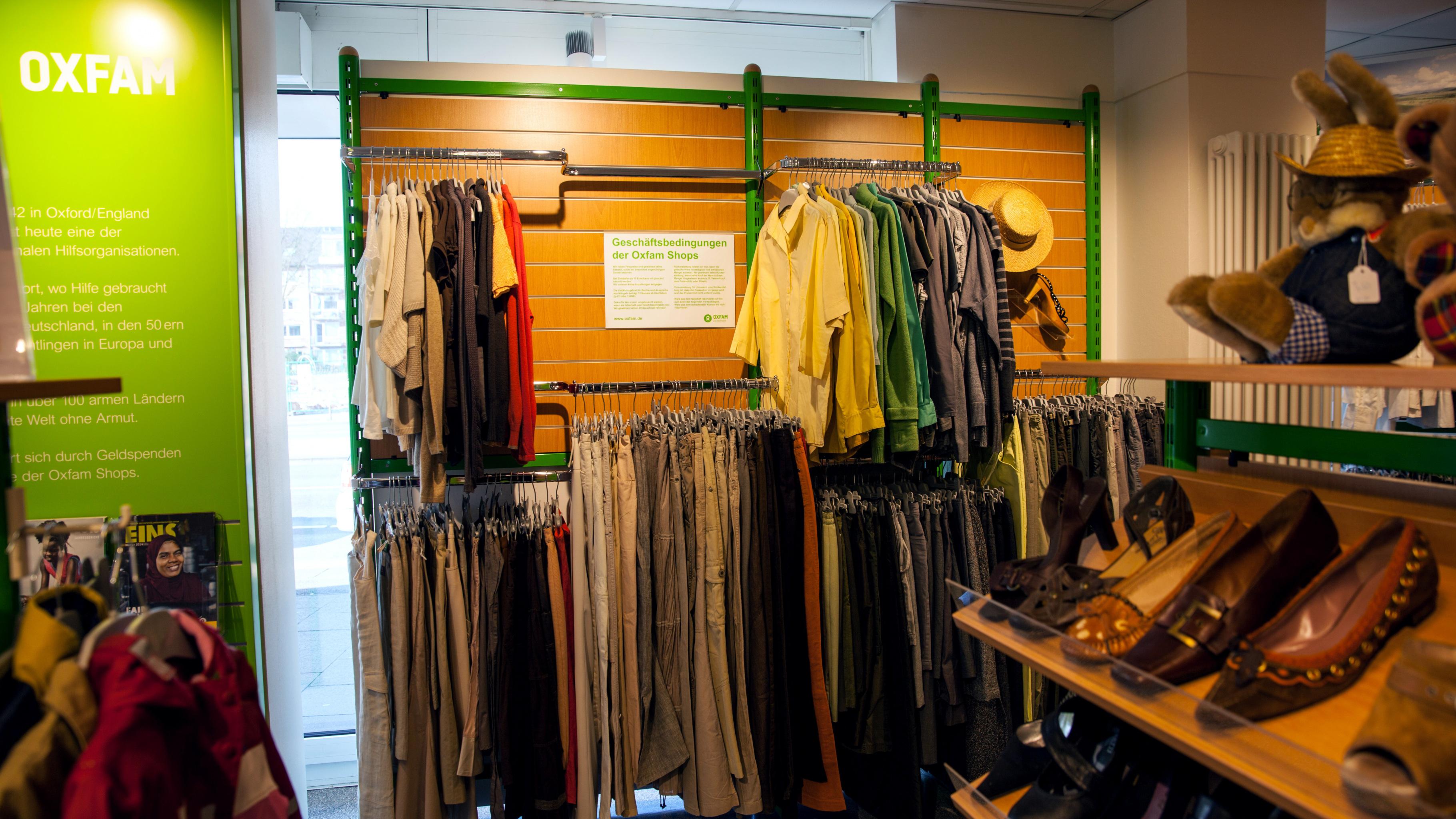 Oxfam Shop Hamburg-Hoheluft - Innenansicht