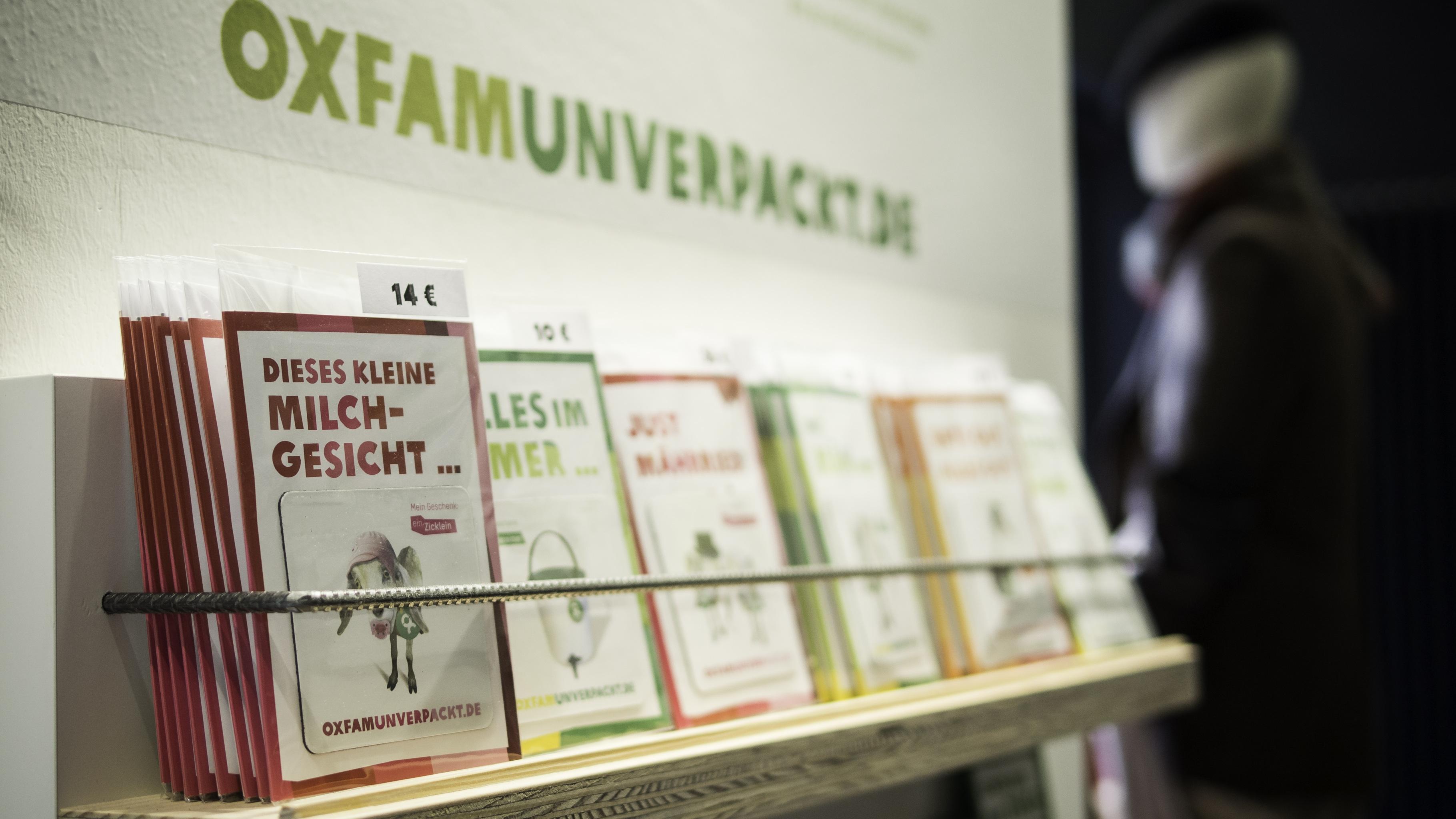 Oxfam Shop - Geschenke von OxfamUnverpackt