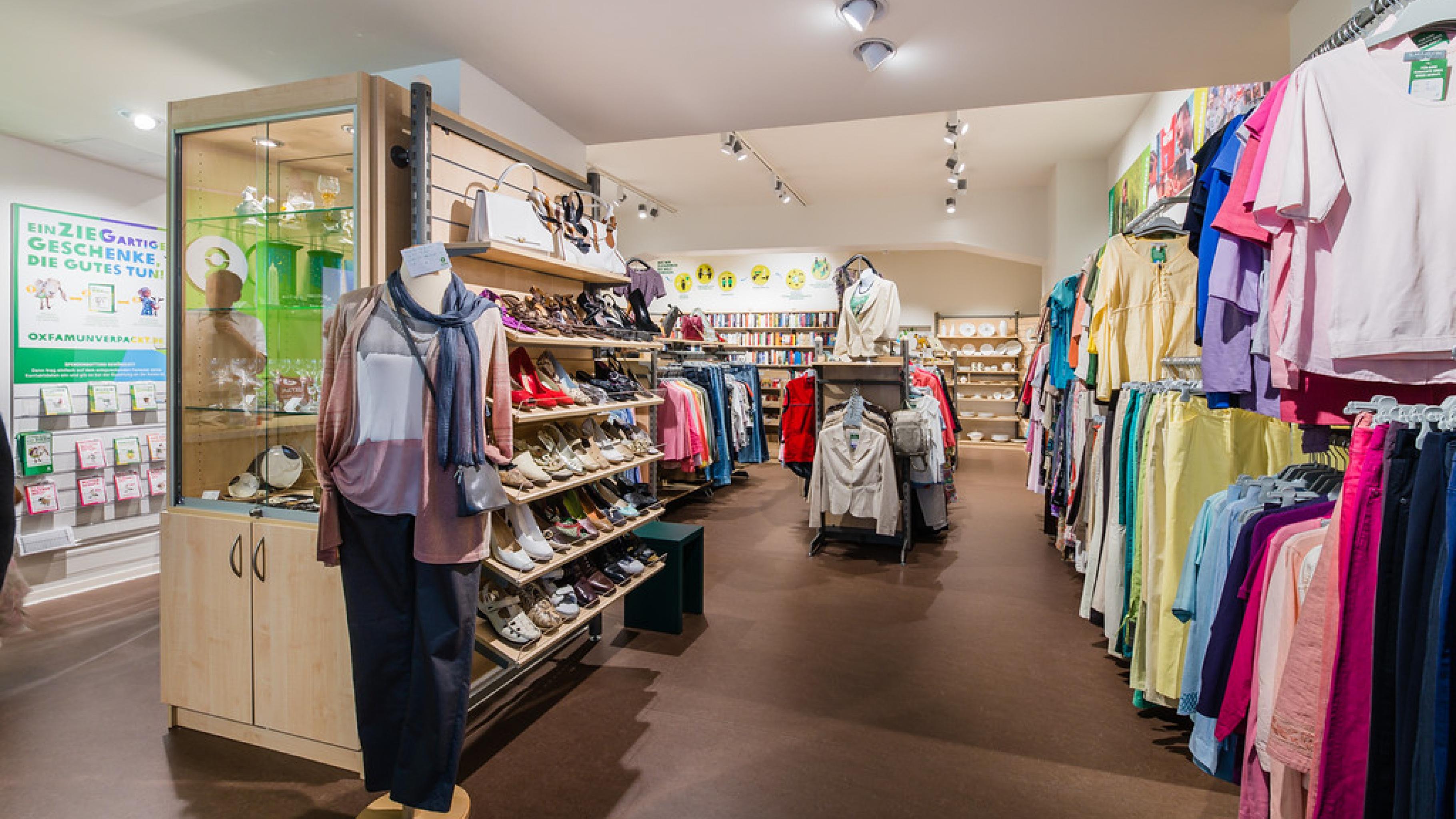 Oxfam Shop Frankfurt-Nordend - So sieht der Shop von innen aus