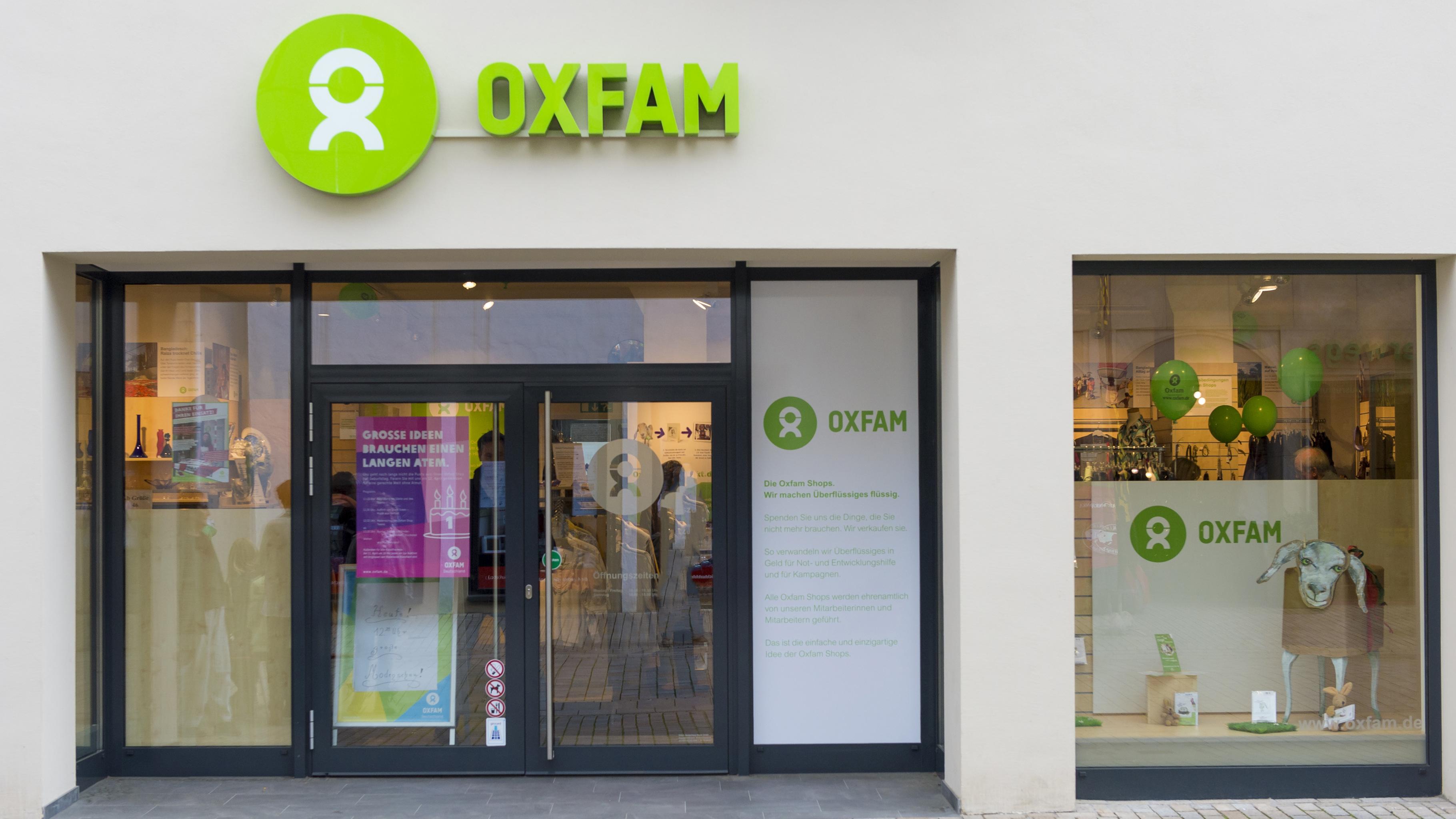 Oxfam Shop Bielefeld - Außenansicht