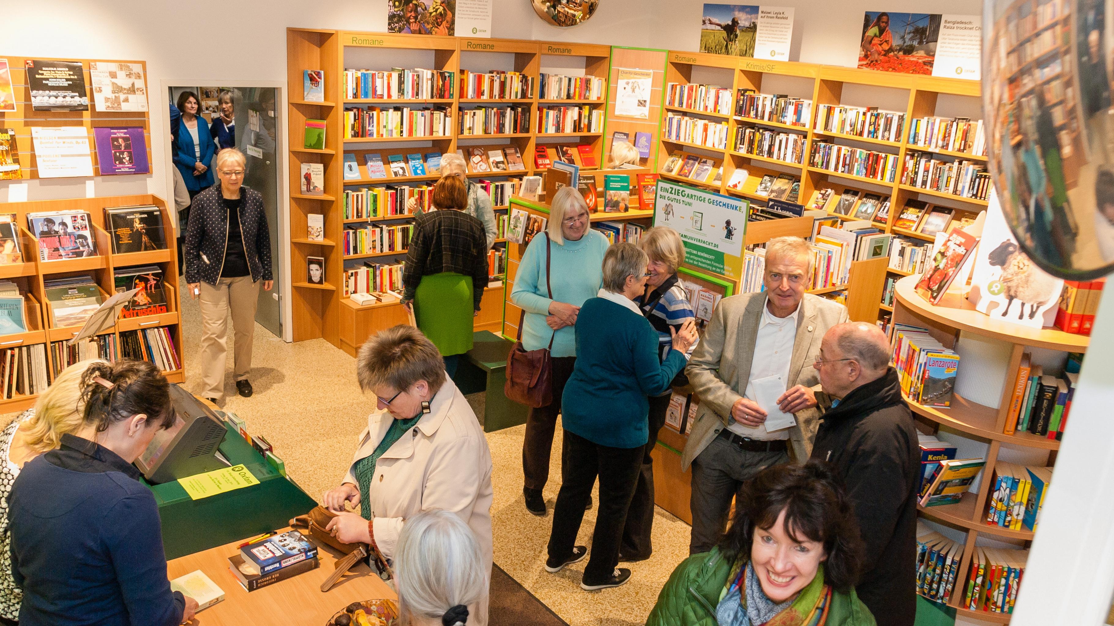 Oxfam Buchshop Darmstadt