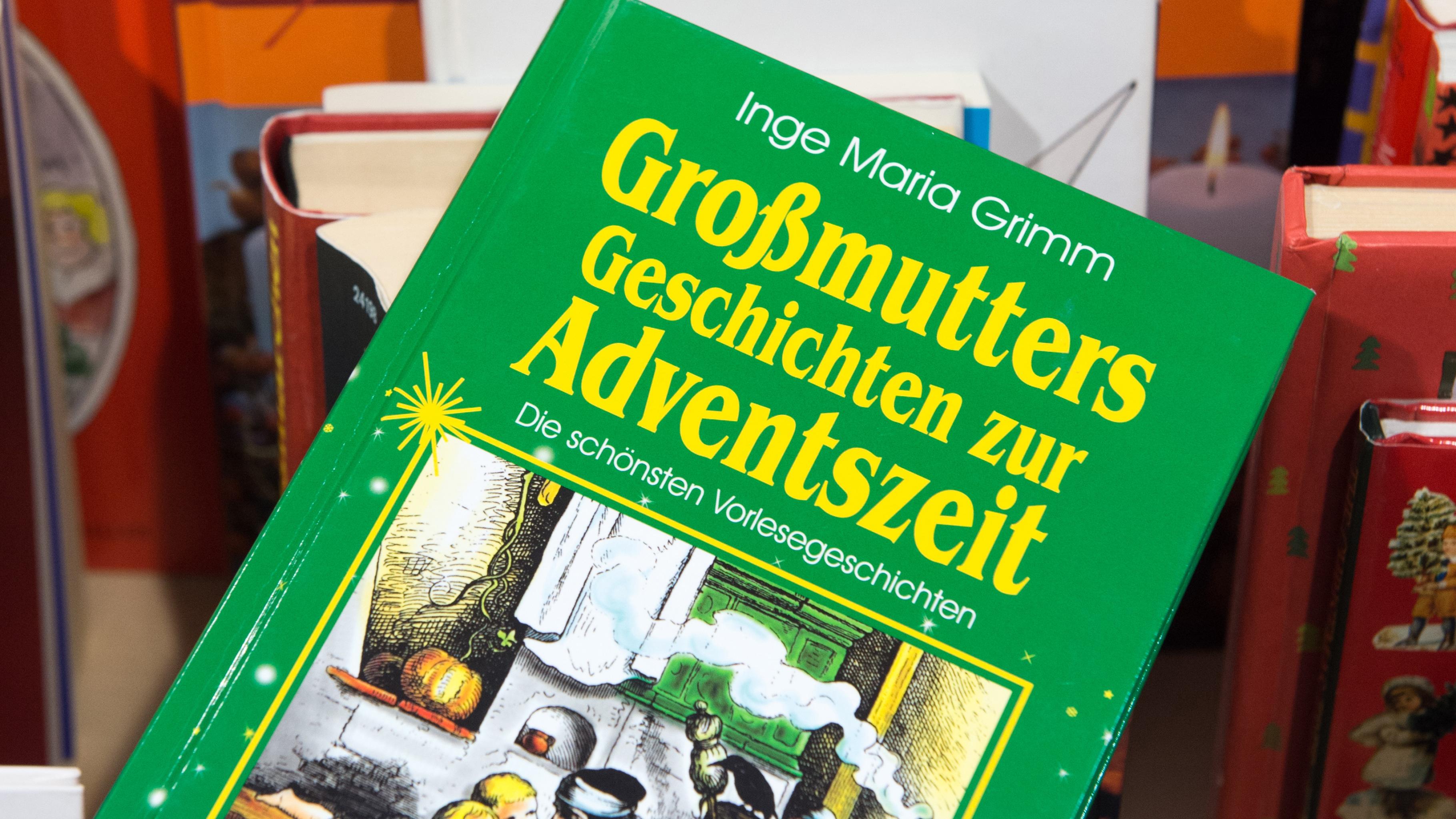 Weihnachtsbuch aus dem Oxfam Shop