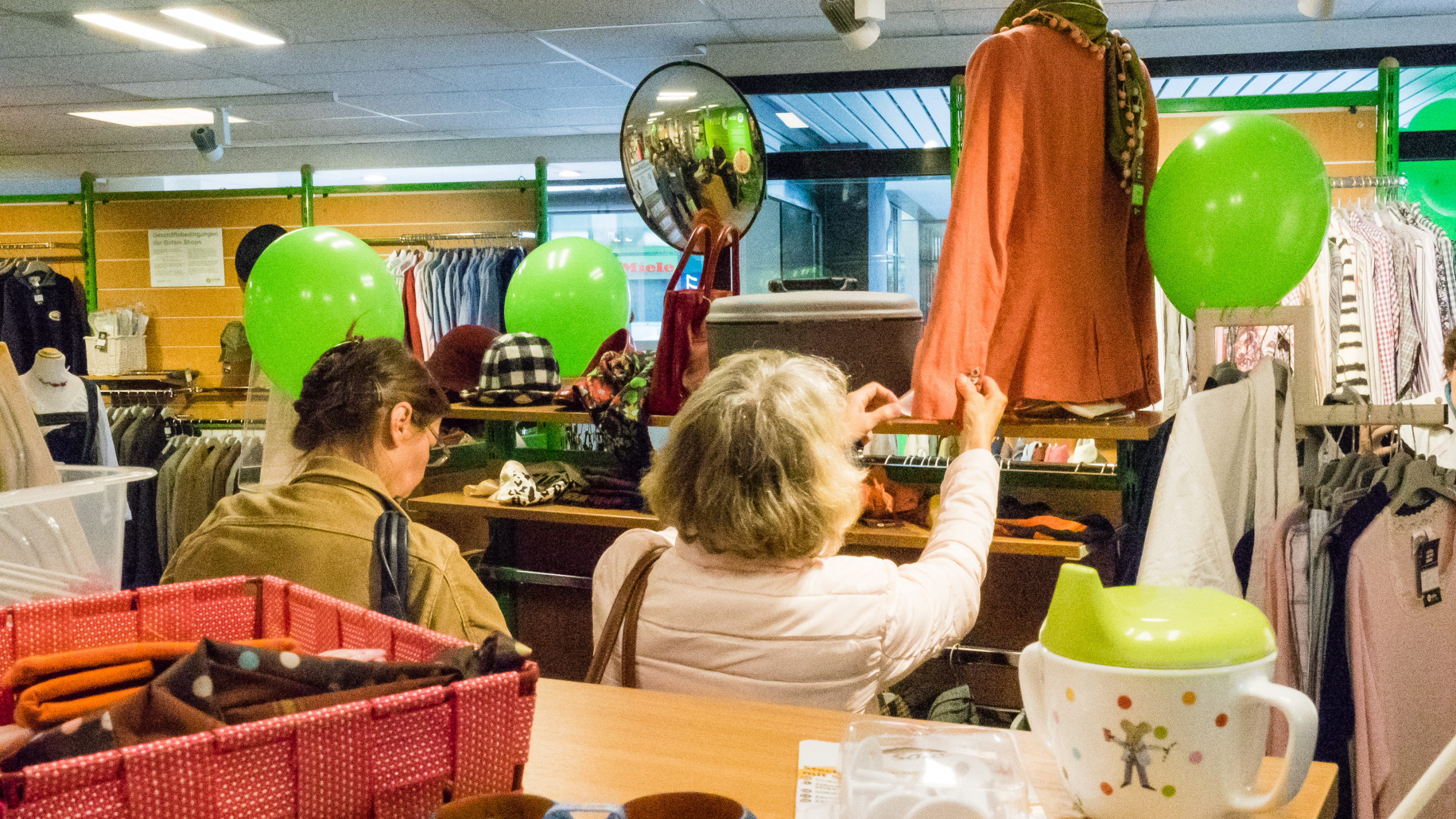 Oxfam Shop Darmstadt - 15. Shop-Geburtstag