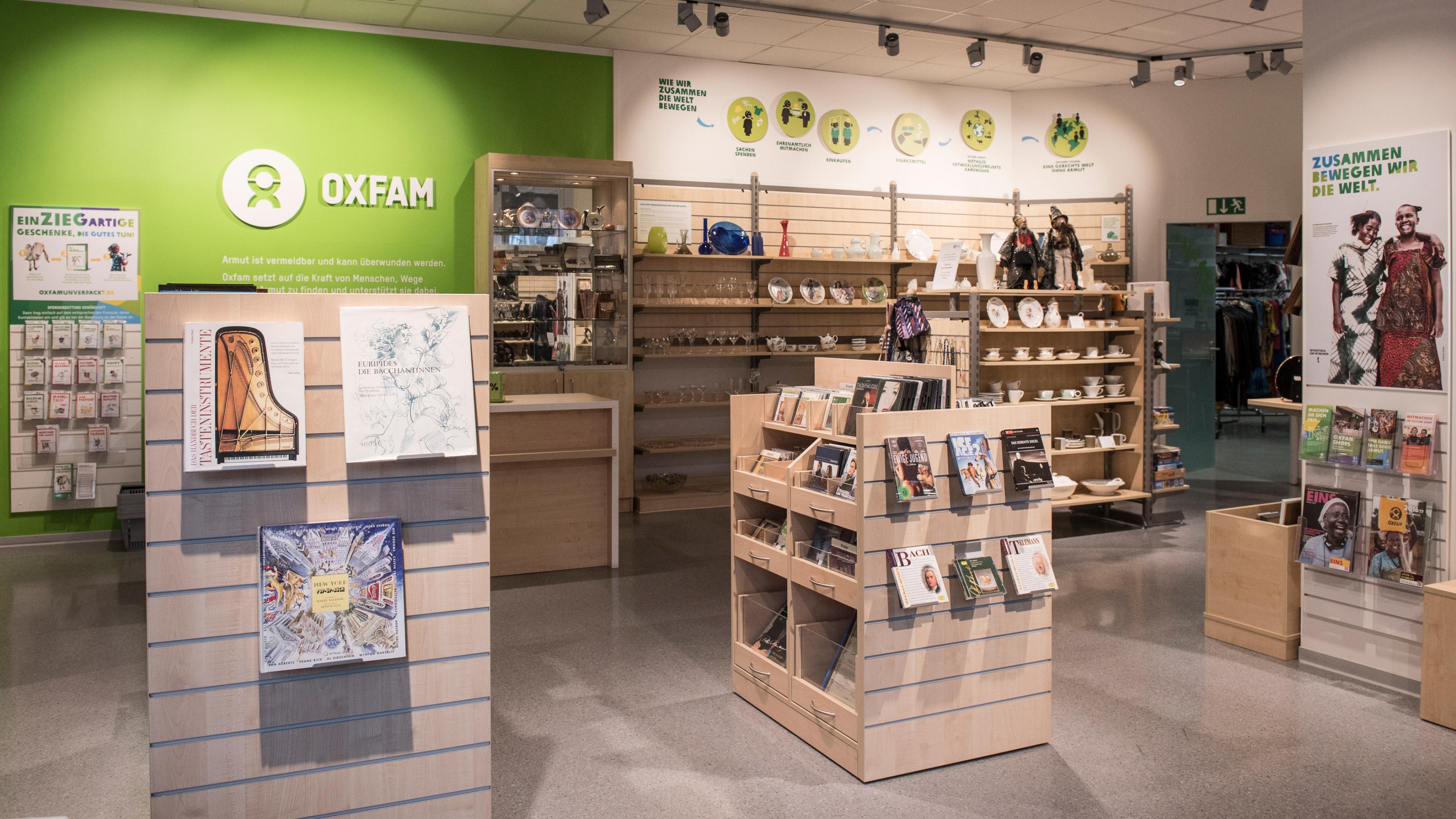 Oxfam Shop Nürnberg 2018 - Innenansicht