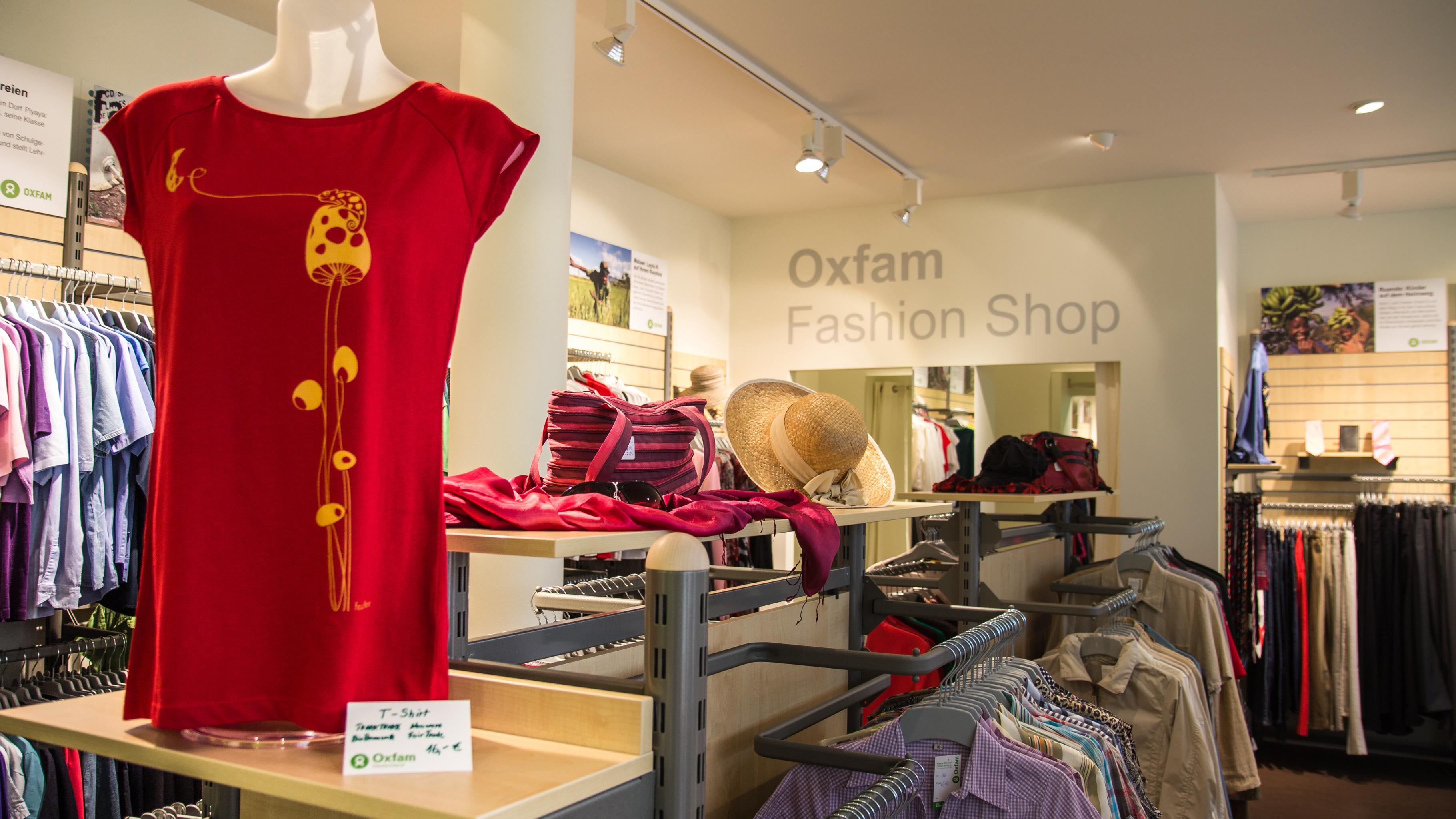 Oxfam Fashionshop Hamburg-Ottensen - Innenansicht