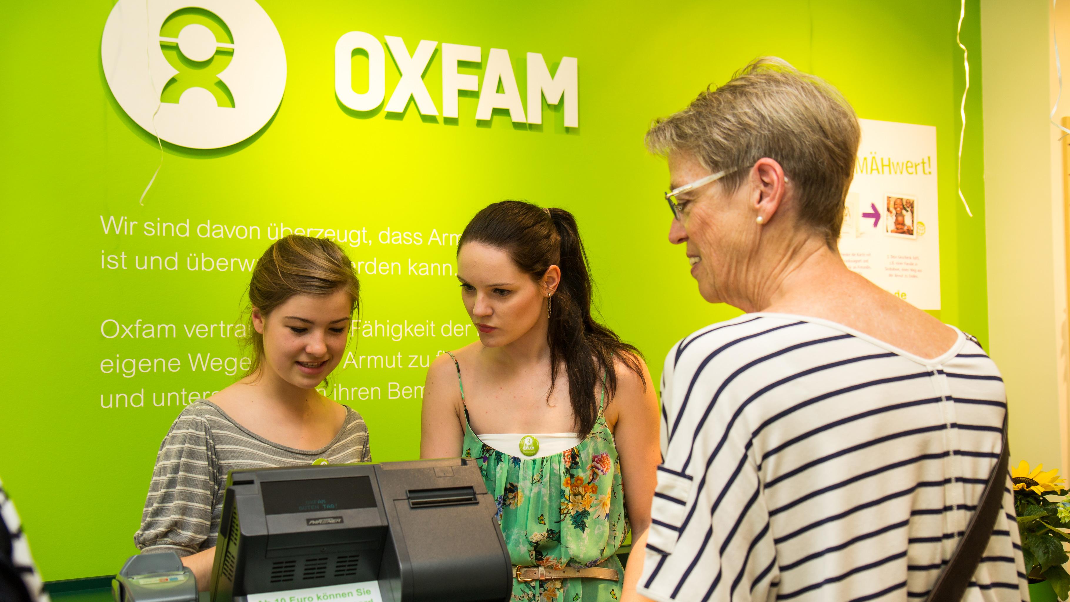 Oxfam Fashionshop Hamburg-Ottensen - Ehrenamtliche