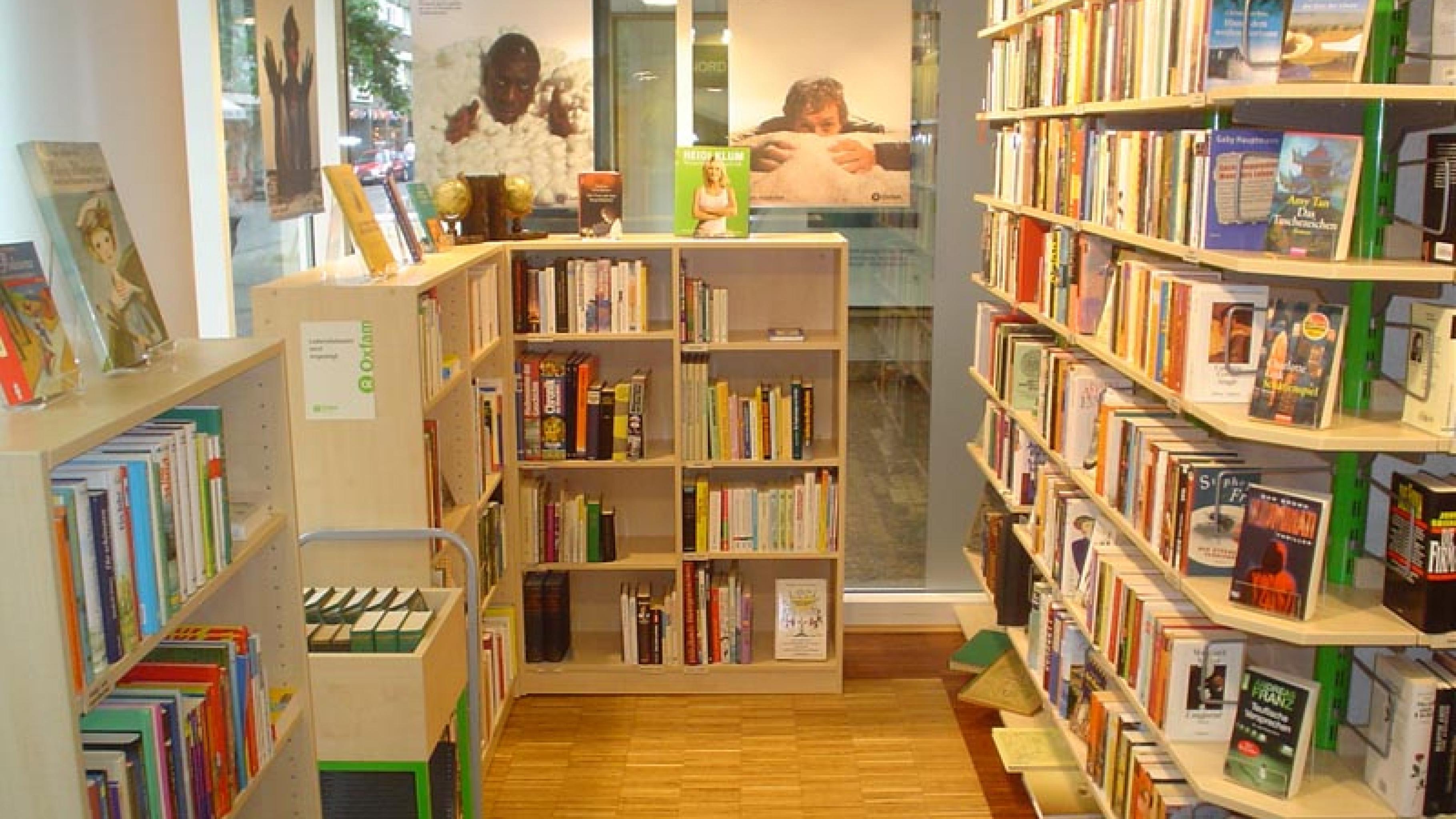 Oxfam Shop Düsseldorf-Pempelfort - Innenansicht