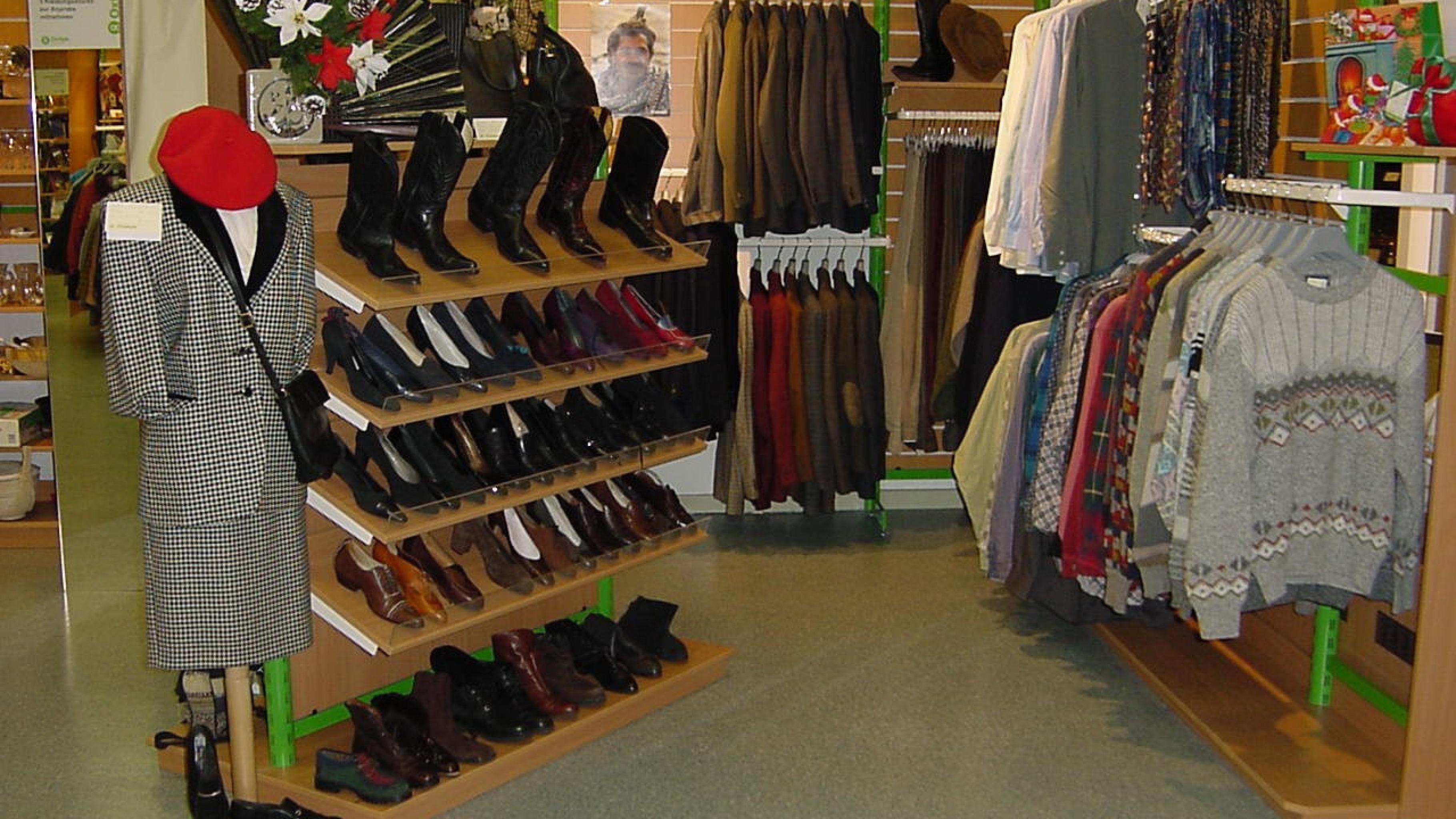 Oxfam Shop Berlin-Wilmersdorf - Innenansicht