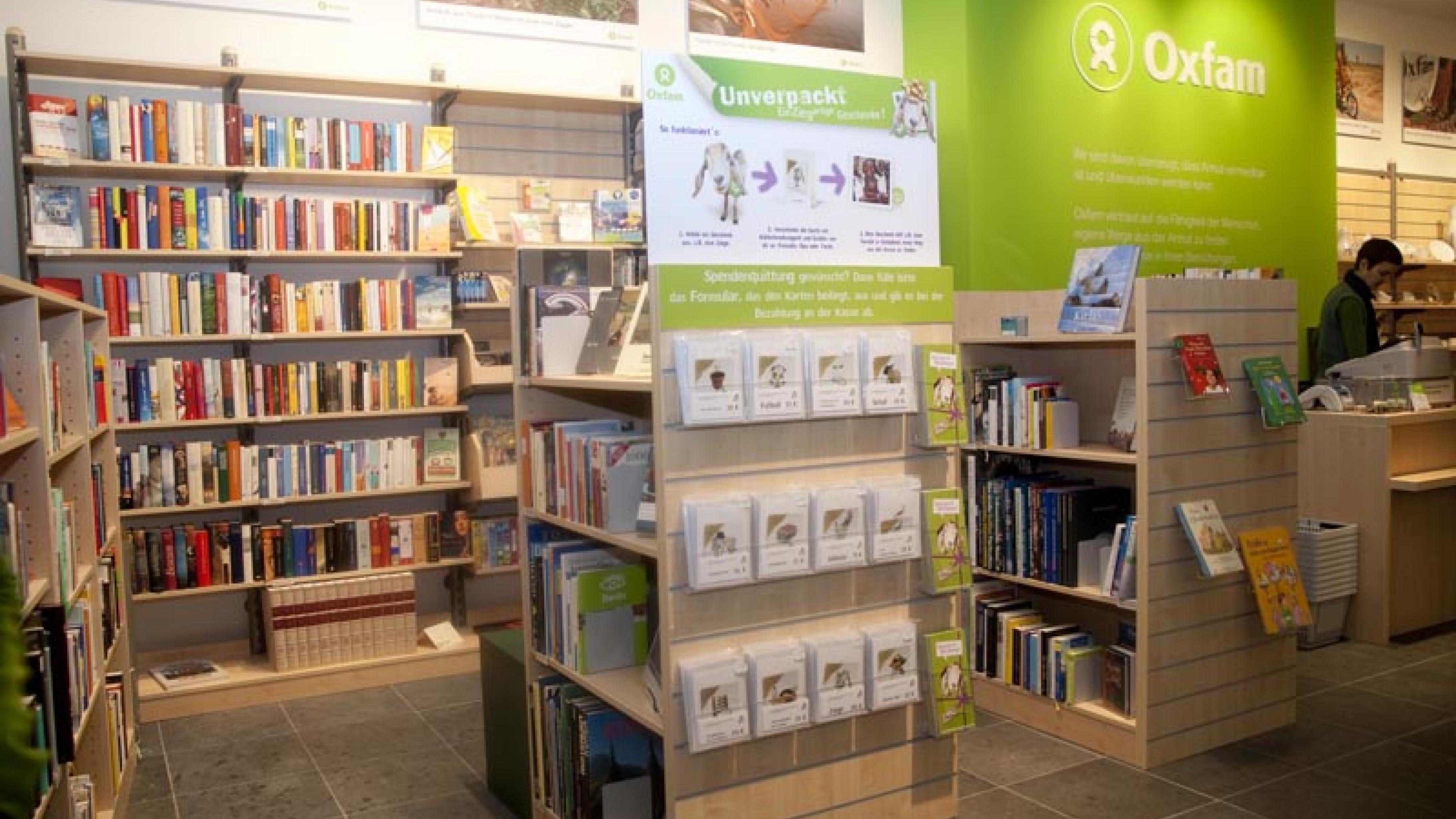 Oxfam Shop Dortmund - Innenansicht