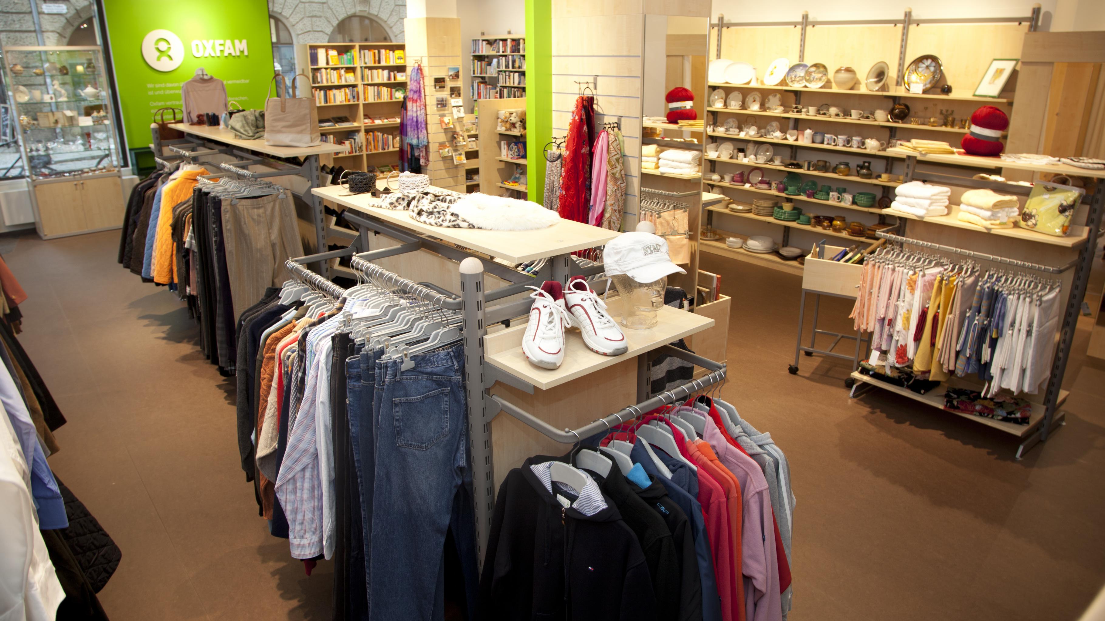Oxfam Shop Dresden - Innenansicht