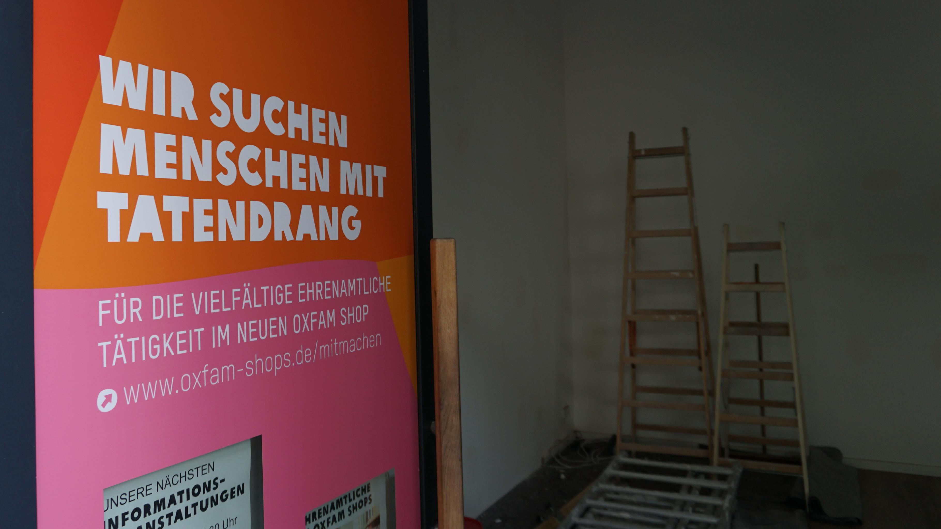Blick in den Oxfam Shop Berlin-Kreuzberg