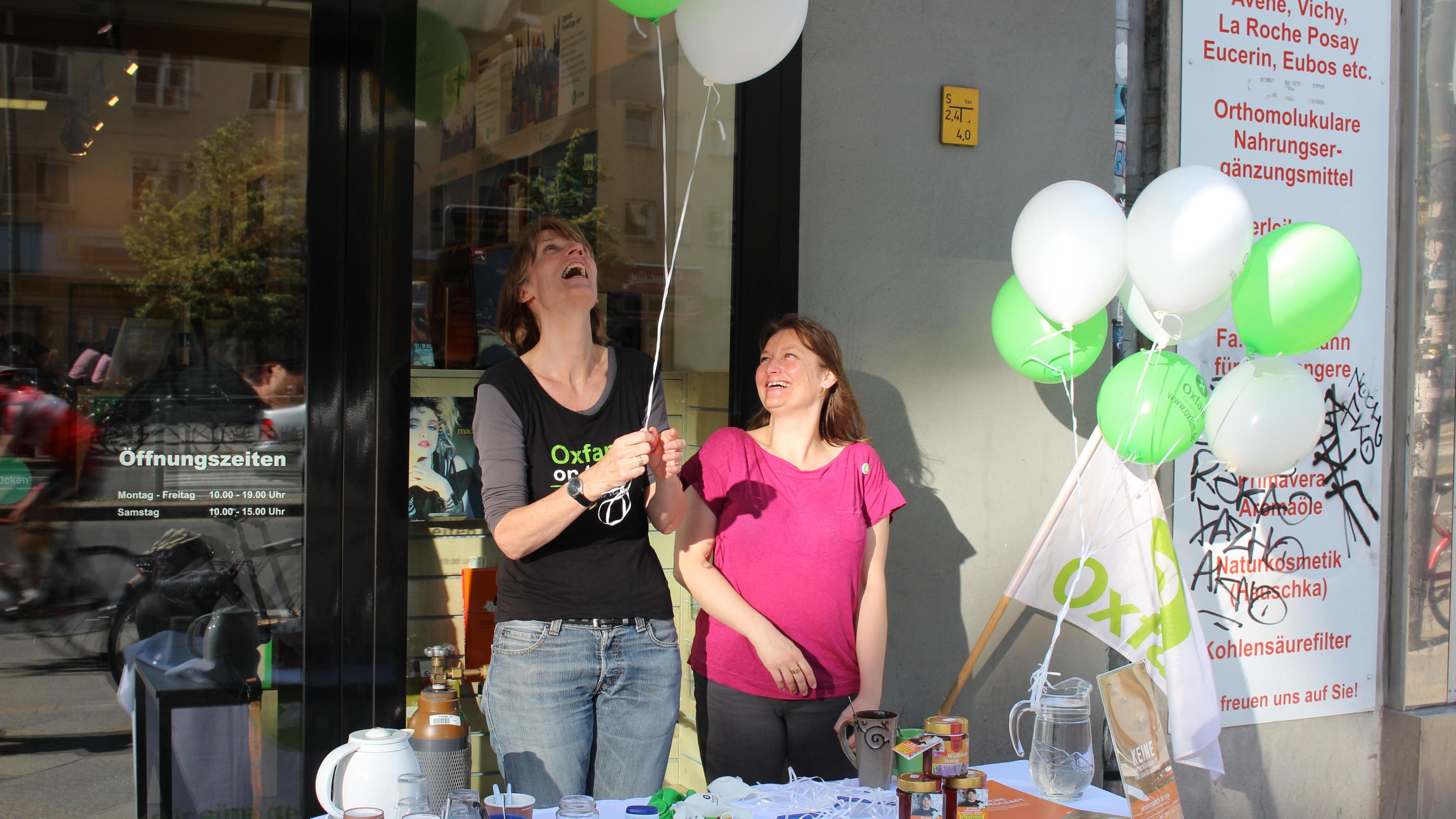 Oxfam Buchshop Berlin-Schöneberg - Kampagnenaktionstag