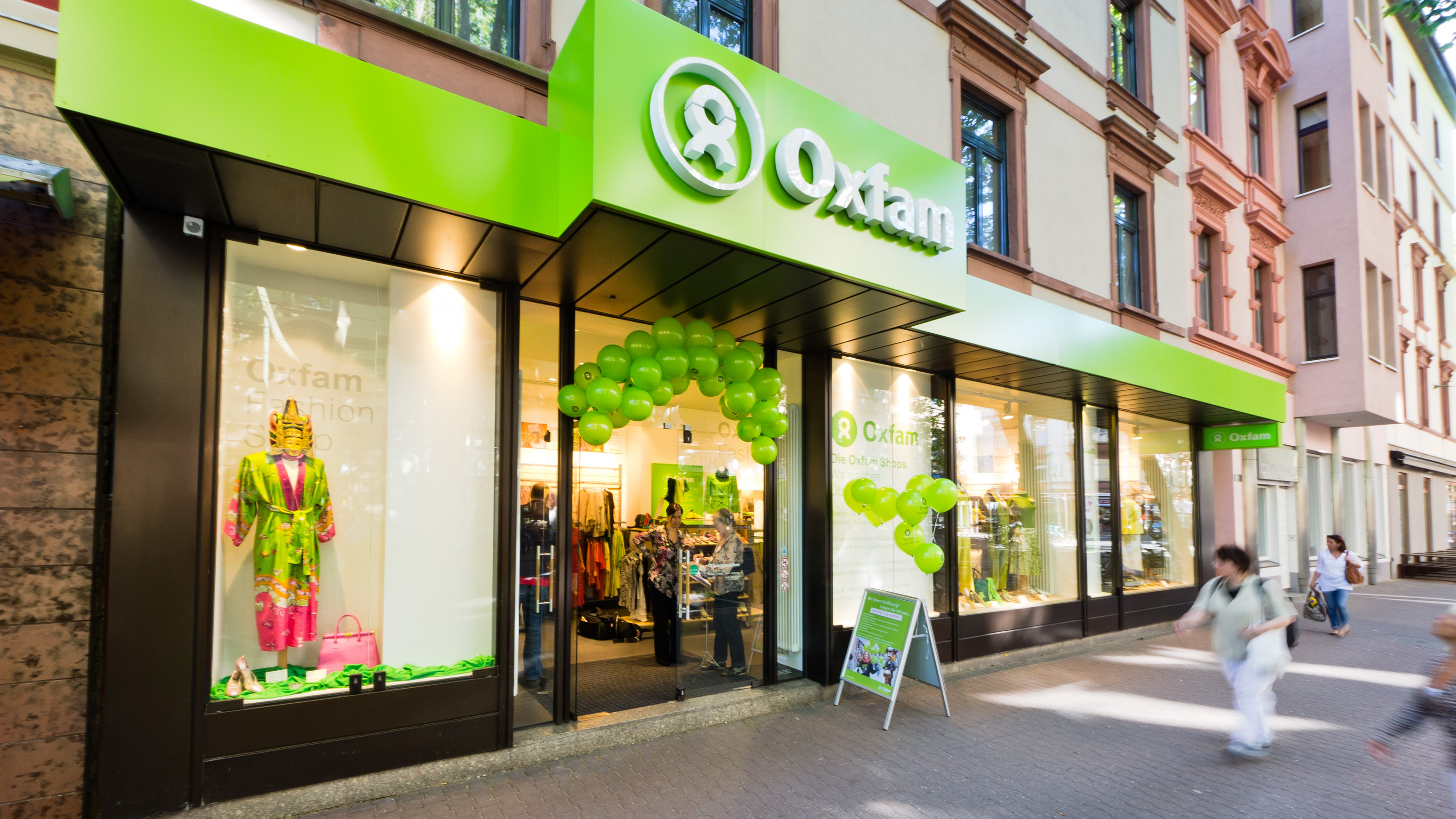 Oxfam Fashionshop Frankfurt-Sachsenhausen - Außenansicht