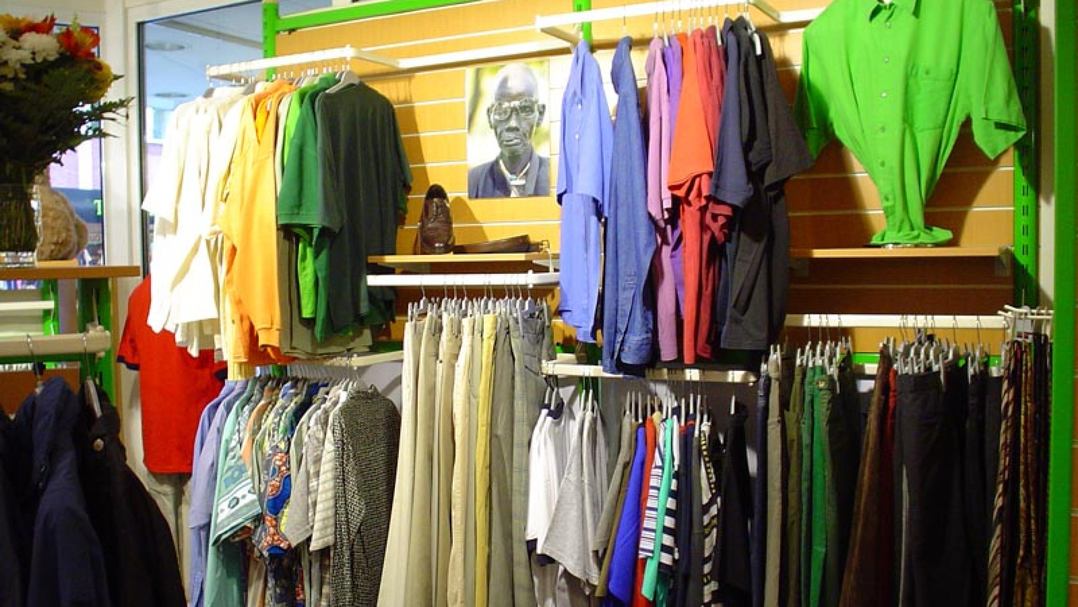 Oxfam Shop Bremen - Innenansicht