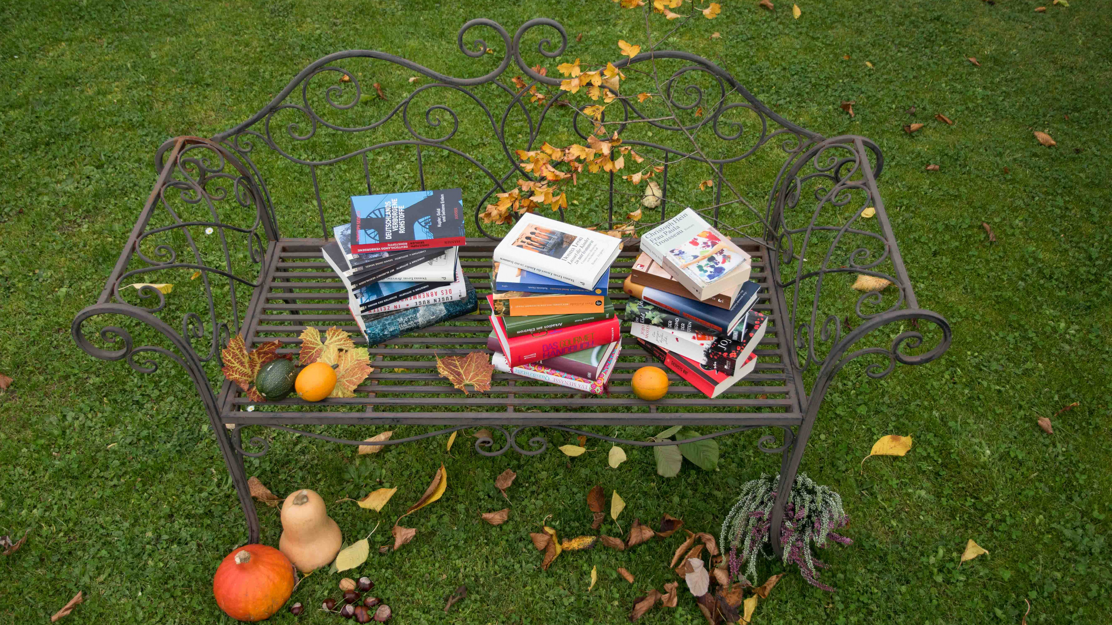 Für die langen Herbstabende: Bücher aus den Oxfam Shops