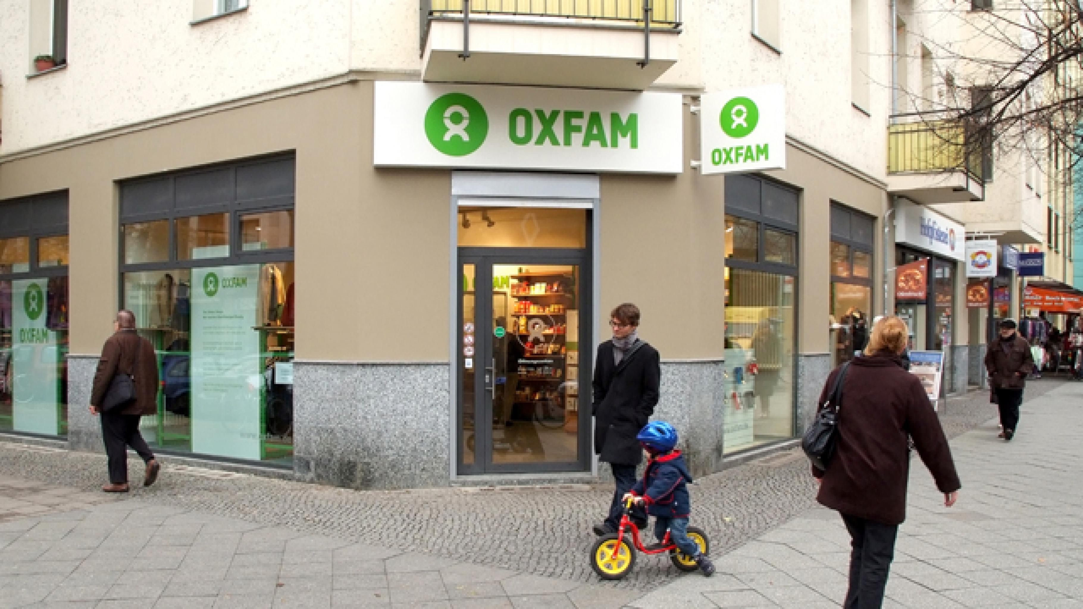 Oxfam Shop Berlin-Prenzlauer Berg - Außenansicht
