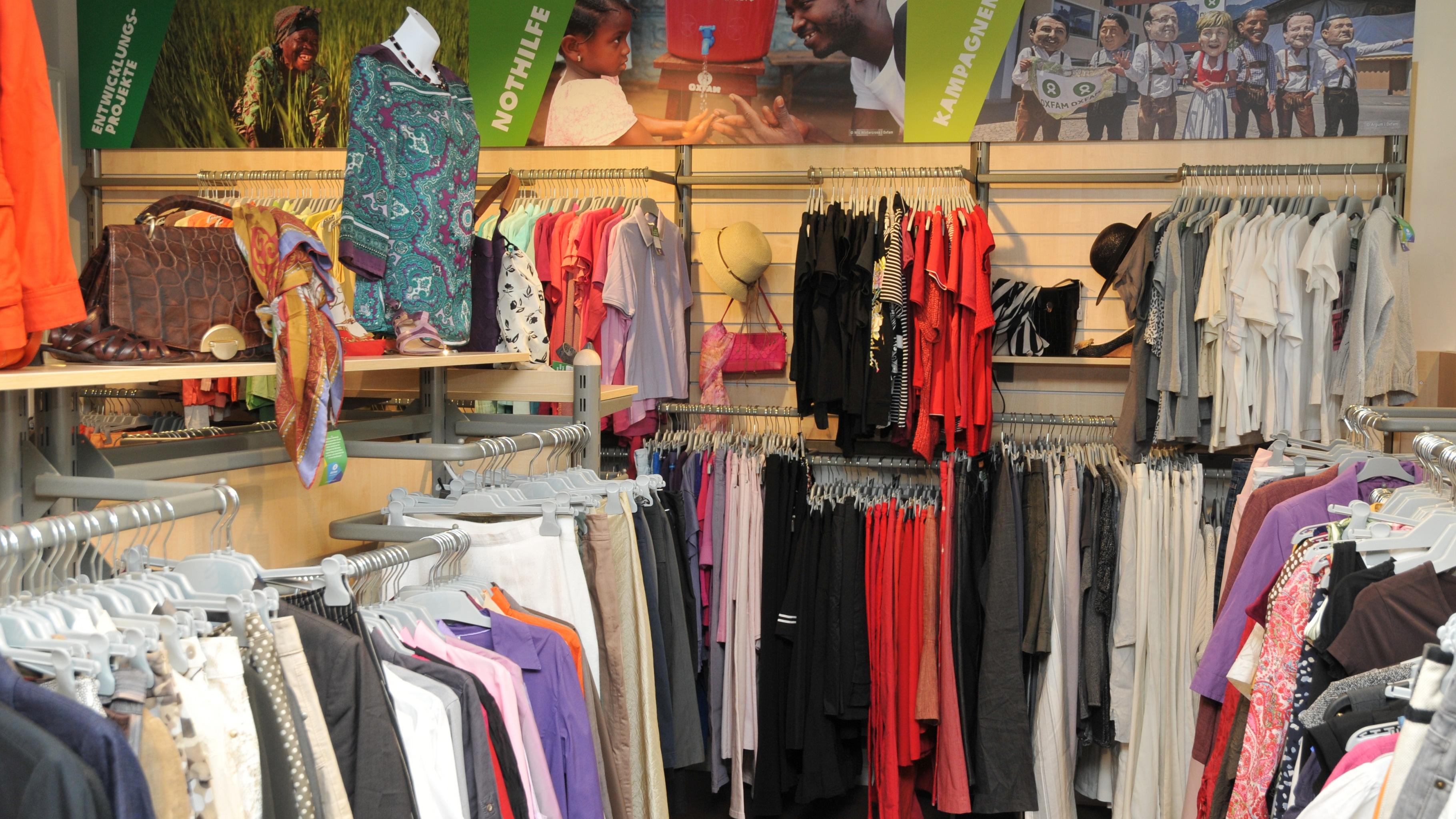 Oxfam Shop Aachen - Angebot