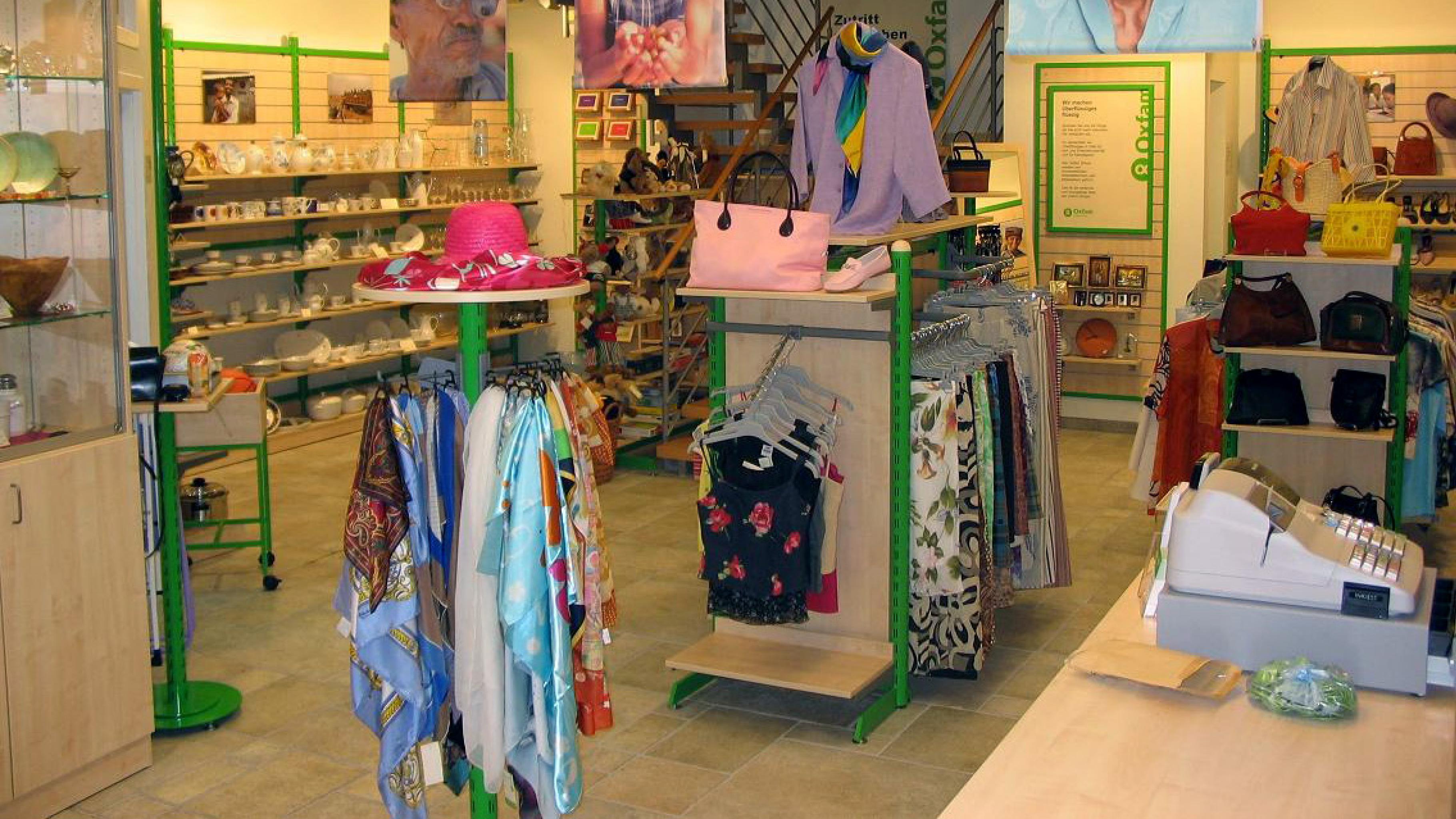 Oxfam Shop Stuttgart - Innenansicht