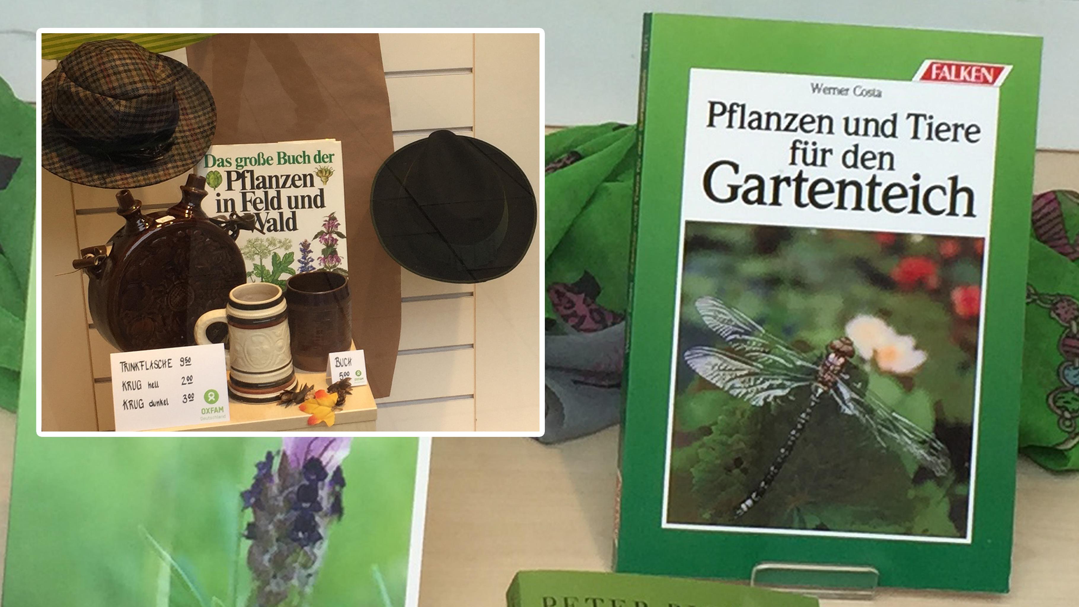Garten und Natur: günstige gebrauchte Bücher im Oxfam Shop