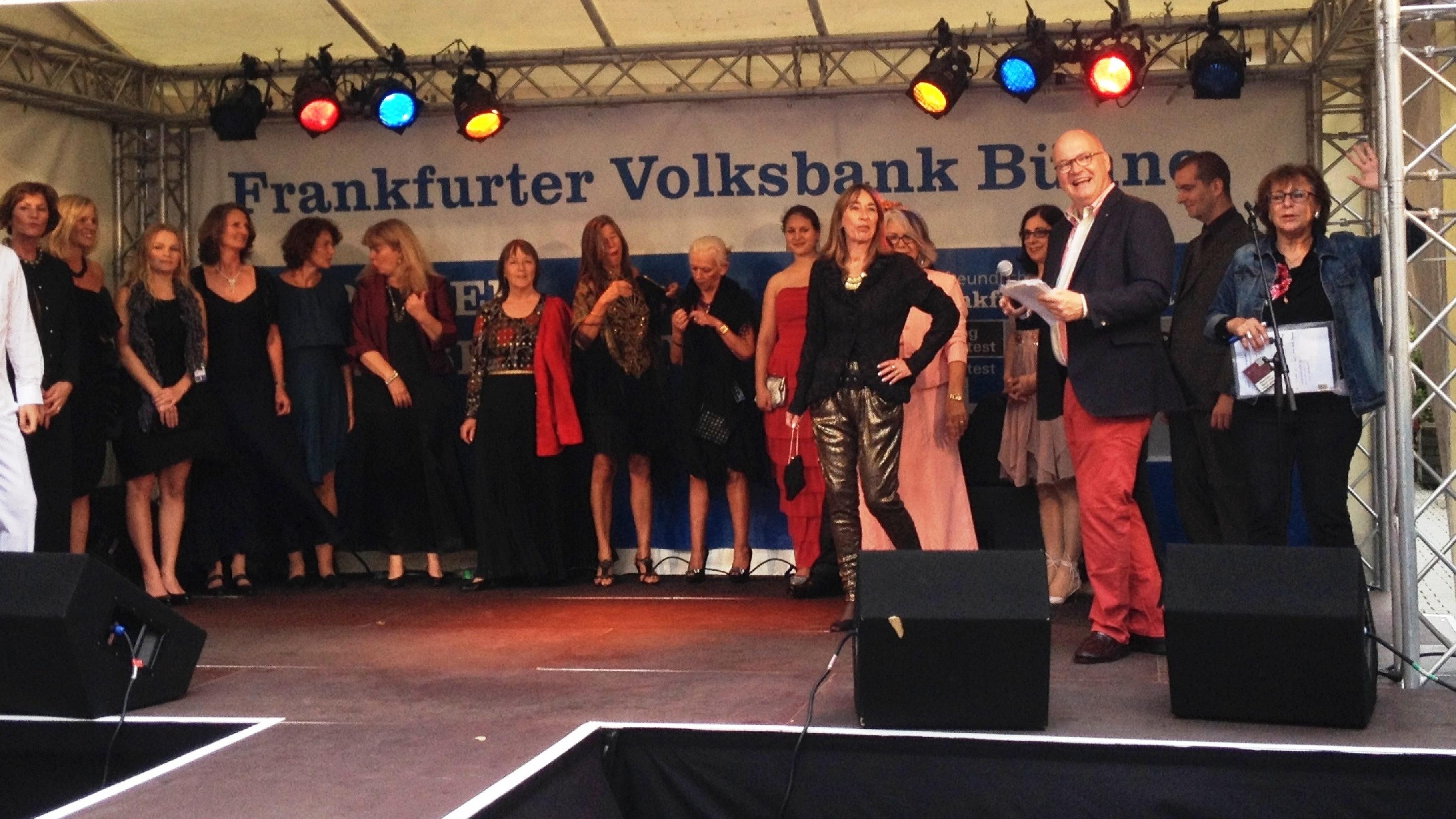 Oxfam Shop Frankfurt-Bockenheim - Modenschau auf dem Leipziger Straßenfest 2014