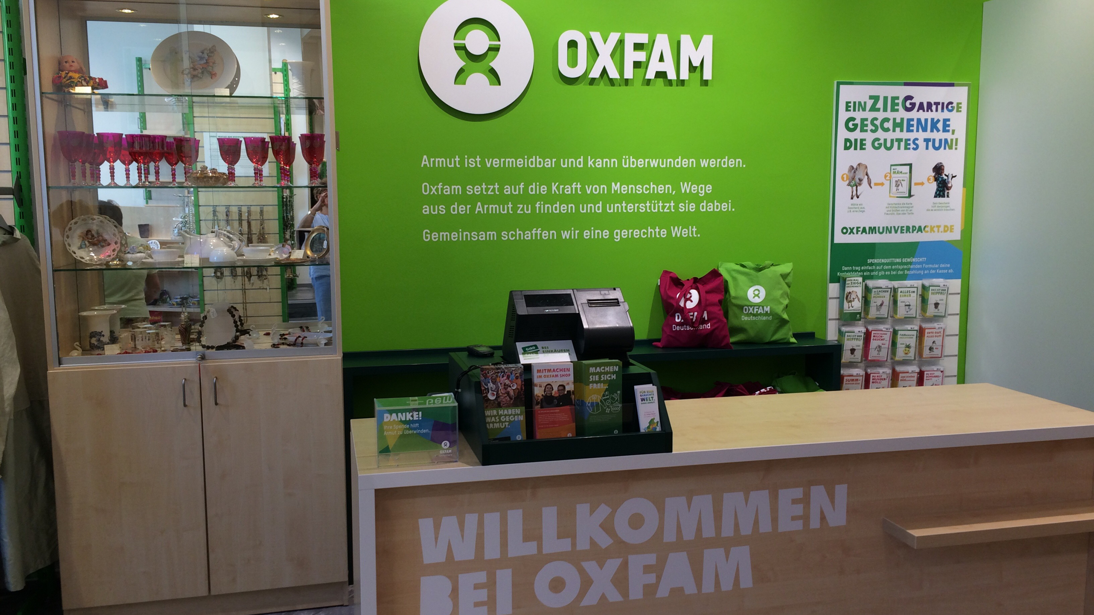 Oxfam Shop Frankfurt-Bornheim - Innenansicht