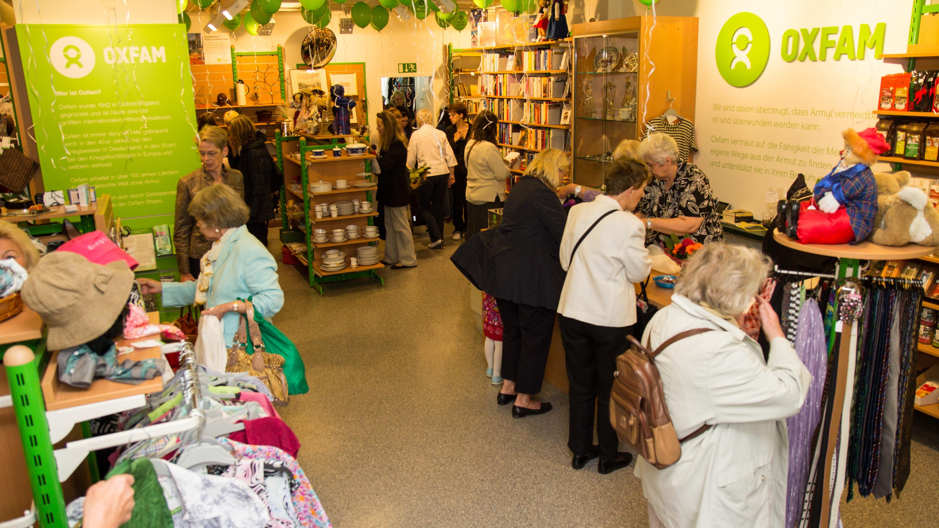 Oxfam Shop Hamburg-Wandsbek – 10. Shop-Geburtstag