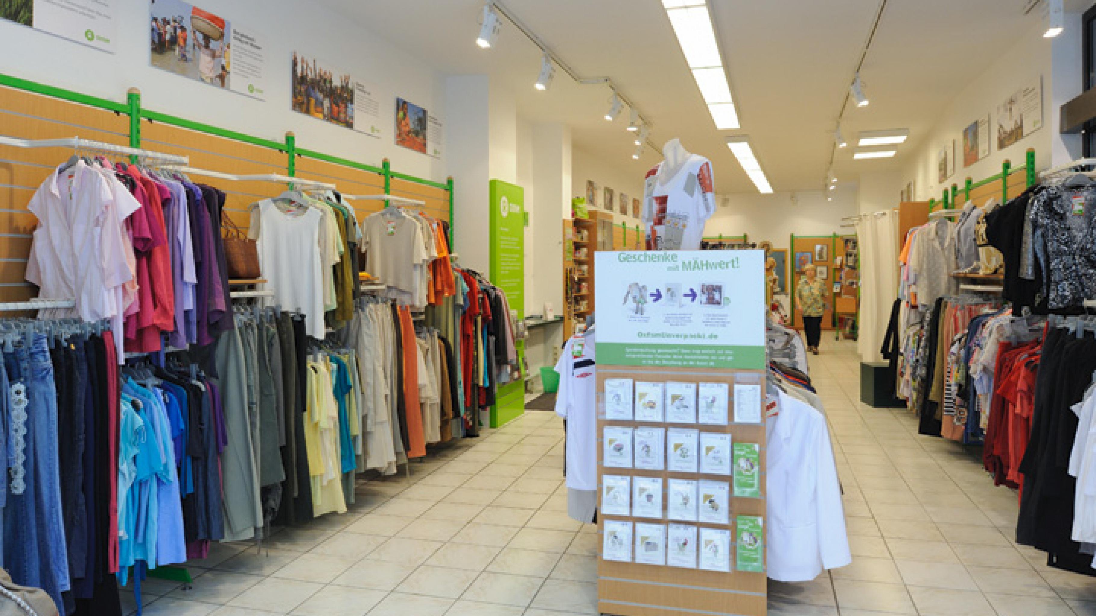 Oxfam Shop Leipzig - Innenansicht