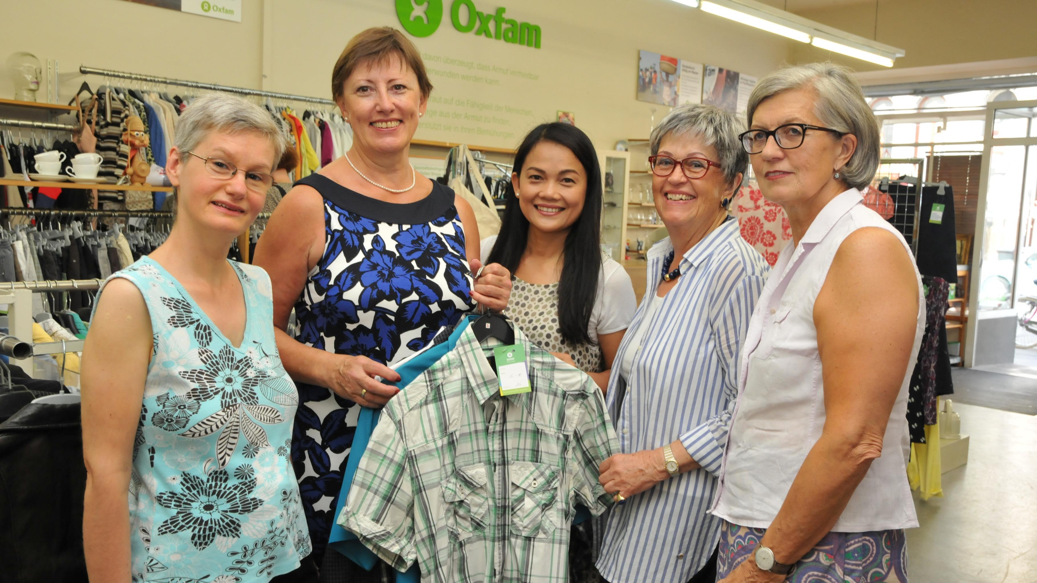 Oxfam Shop-Team Köln-Südstadt