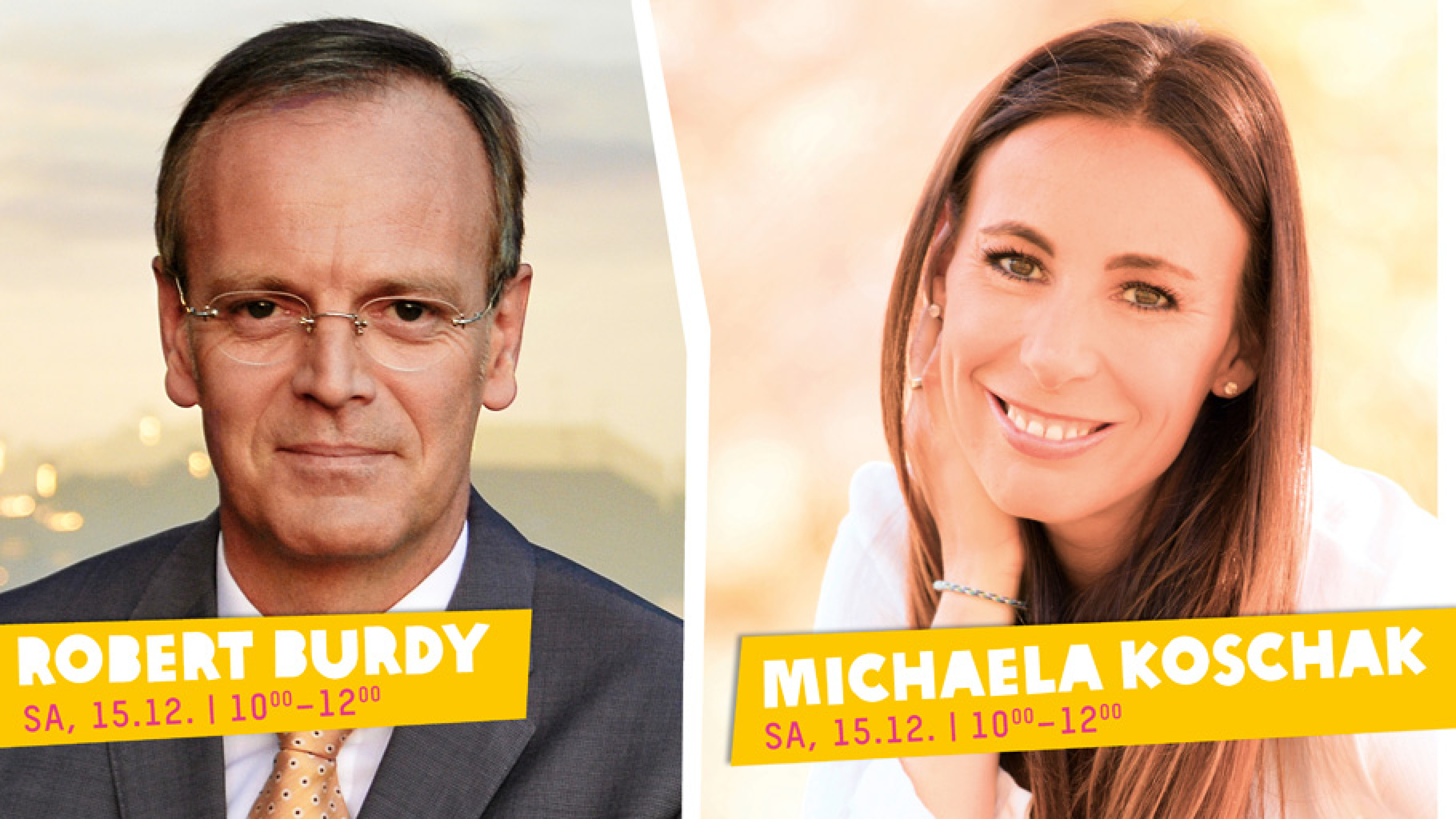 Die MDR-Moderator*innen Kamilla Senjo, Robert Burdy und Michaela Koschak (v.l.)