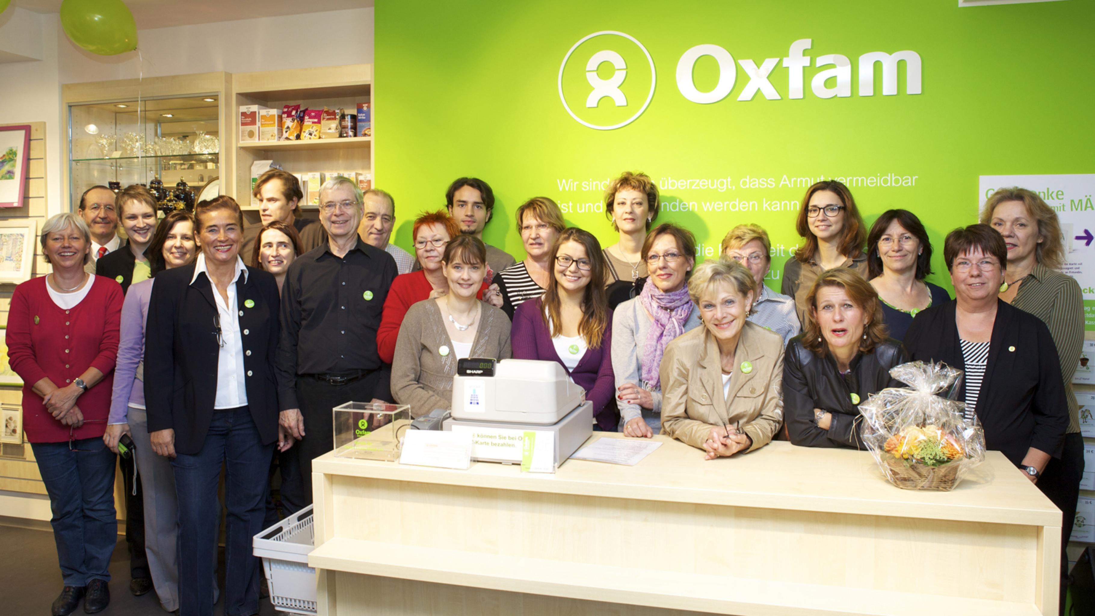 Oxfam Shop Düsseldorf-Friedrichstadt - Team