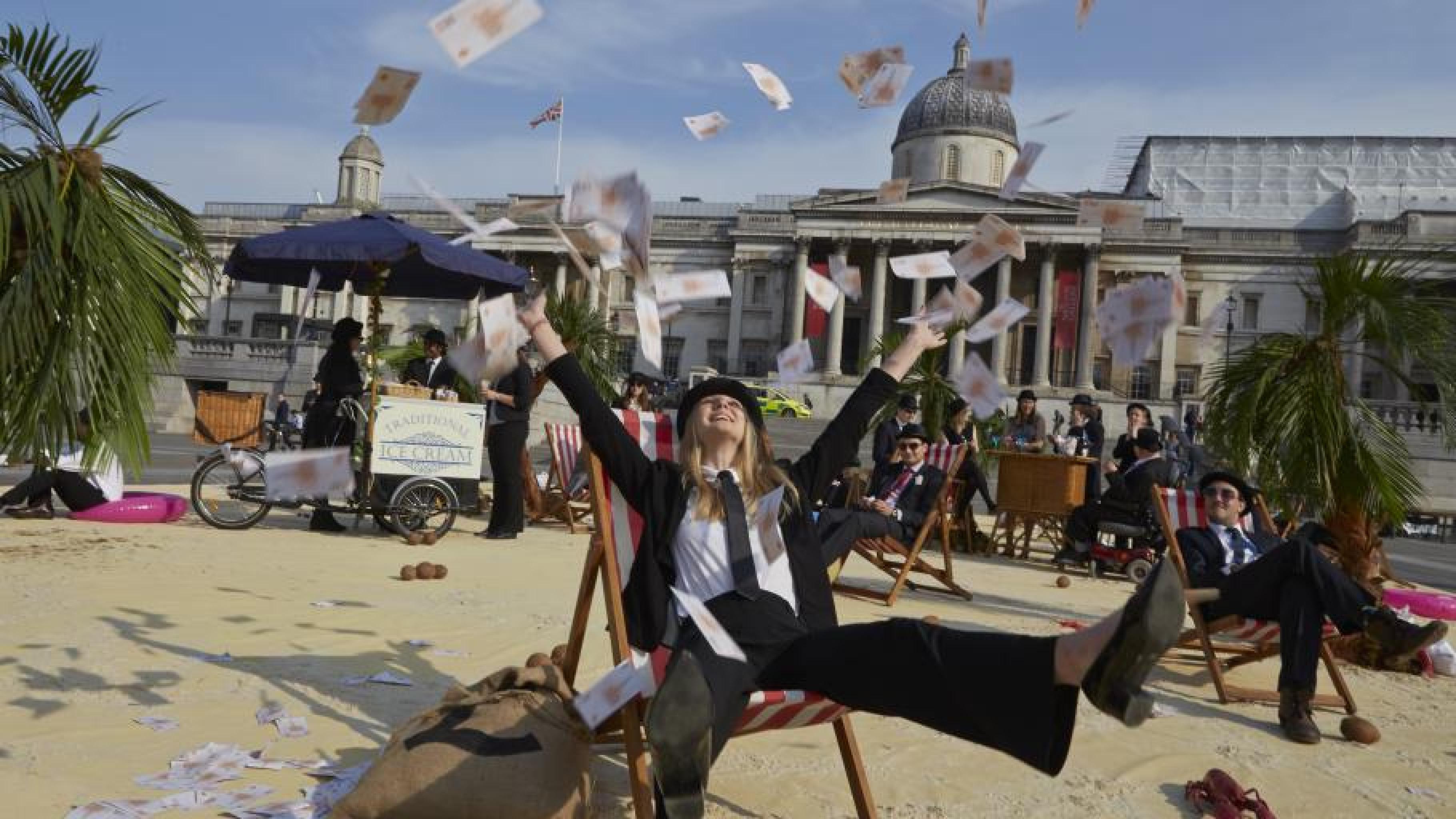 Die großen EU-Banken stehen im Verdacht, Gewinne in Steueroasen zu verschieben.