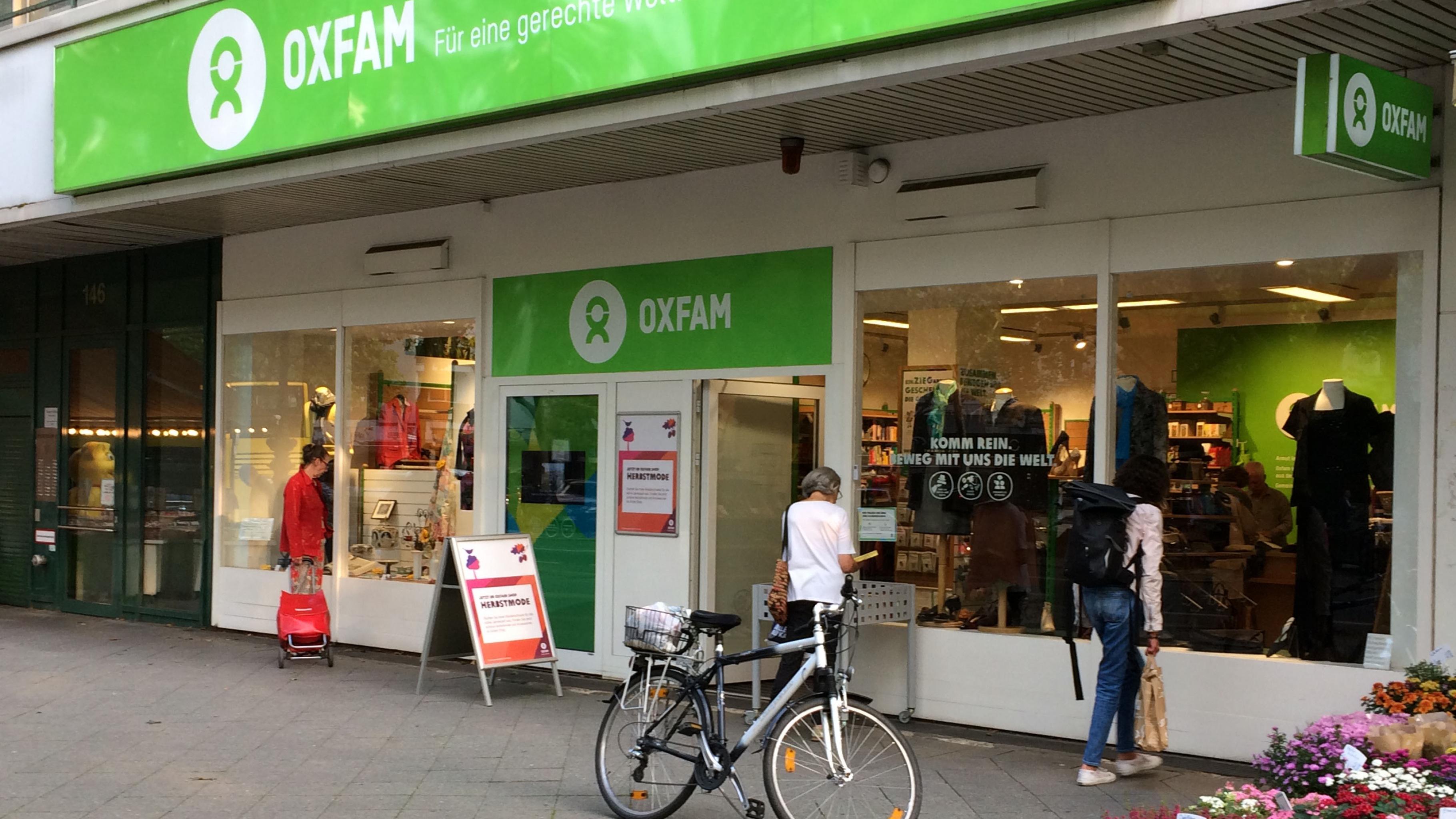 Oxfam Shop Berlin-Wilmersdorf - Außenansicht