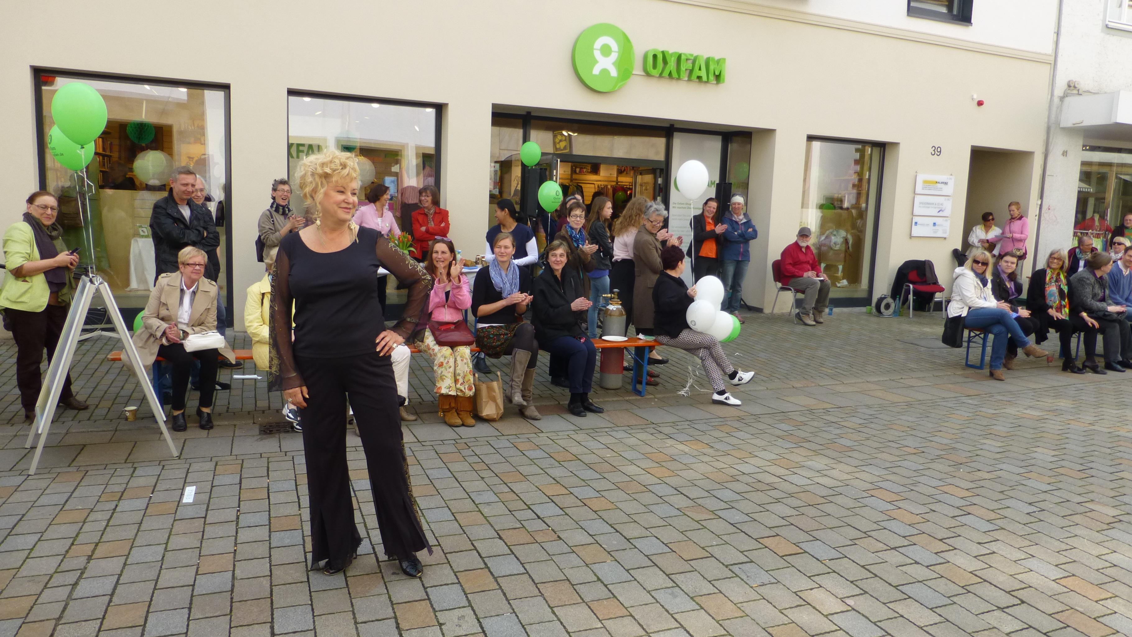 Oxfam Shop Bielefeld - Modenschau