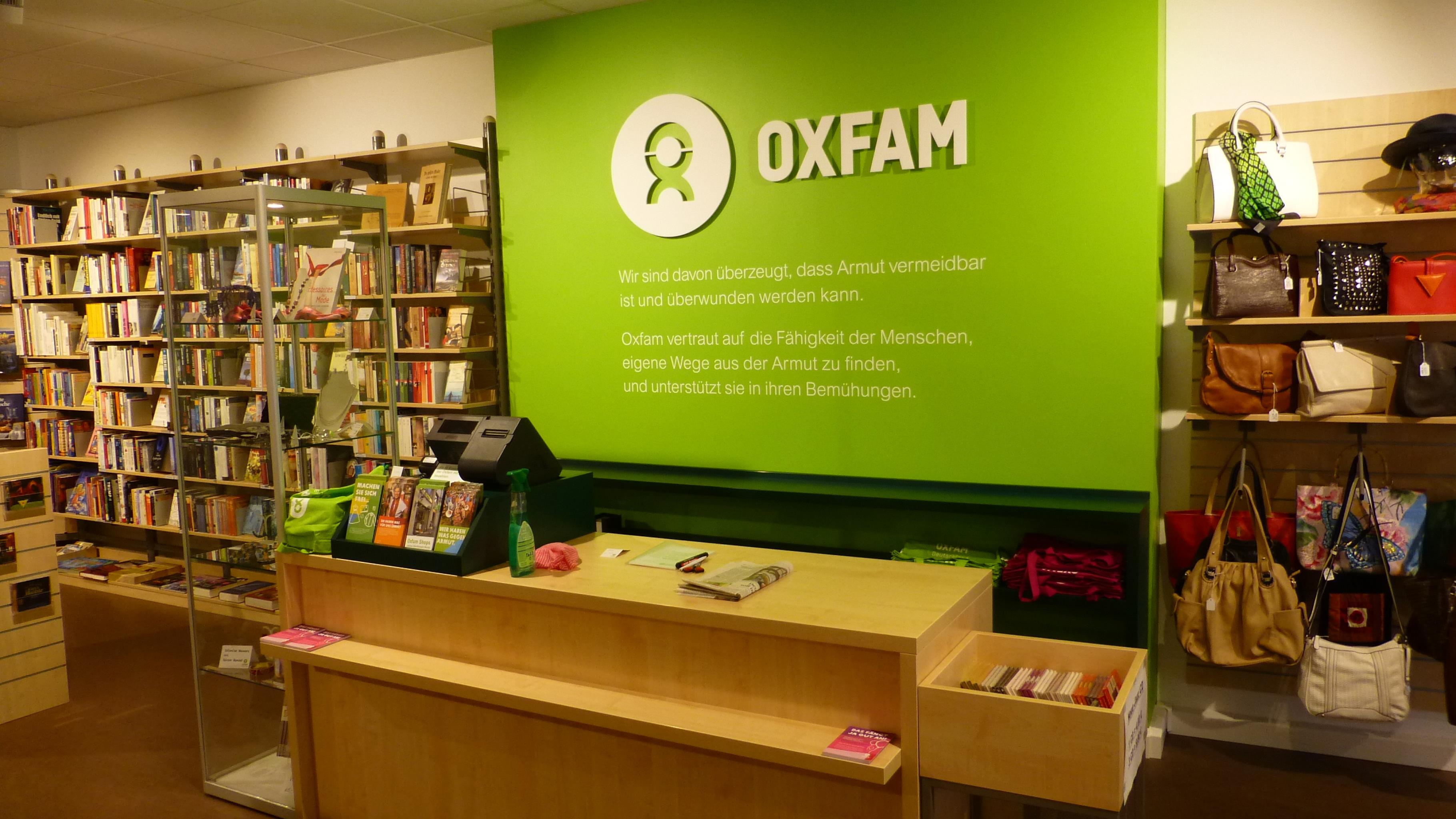 Oxfam Shop Erfurt - Innenansicht