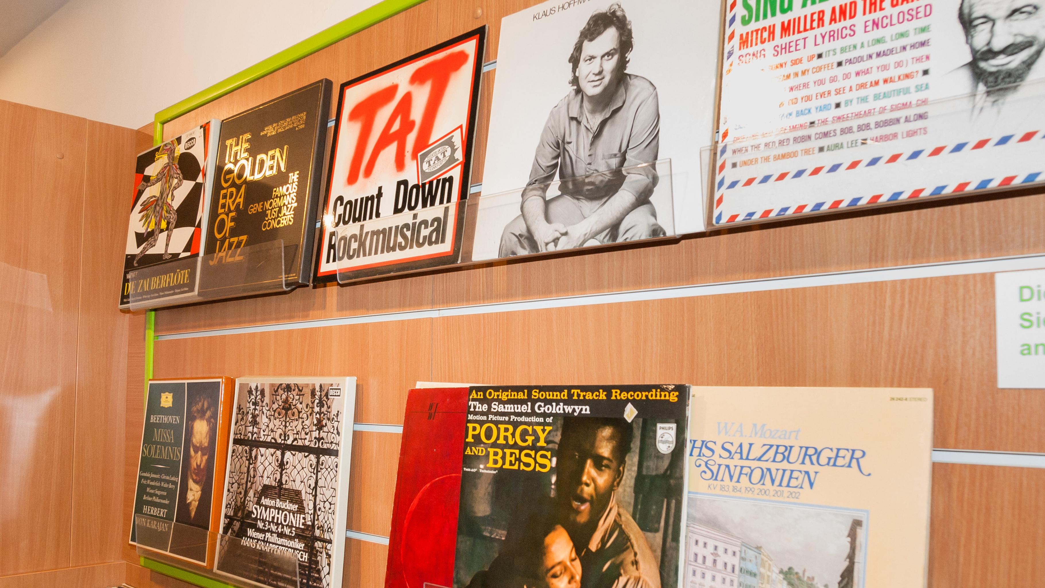 Oxfam Buchshop Frankfurt - Schallplatten