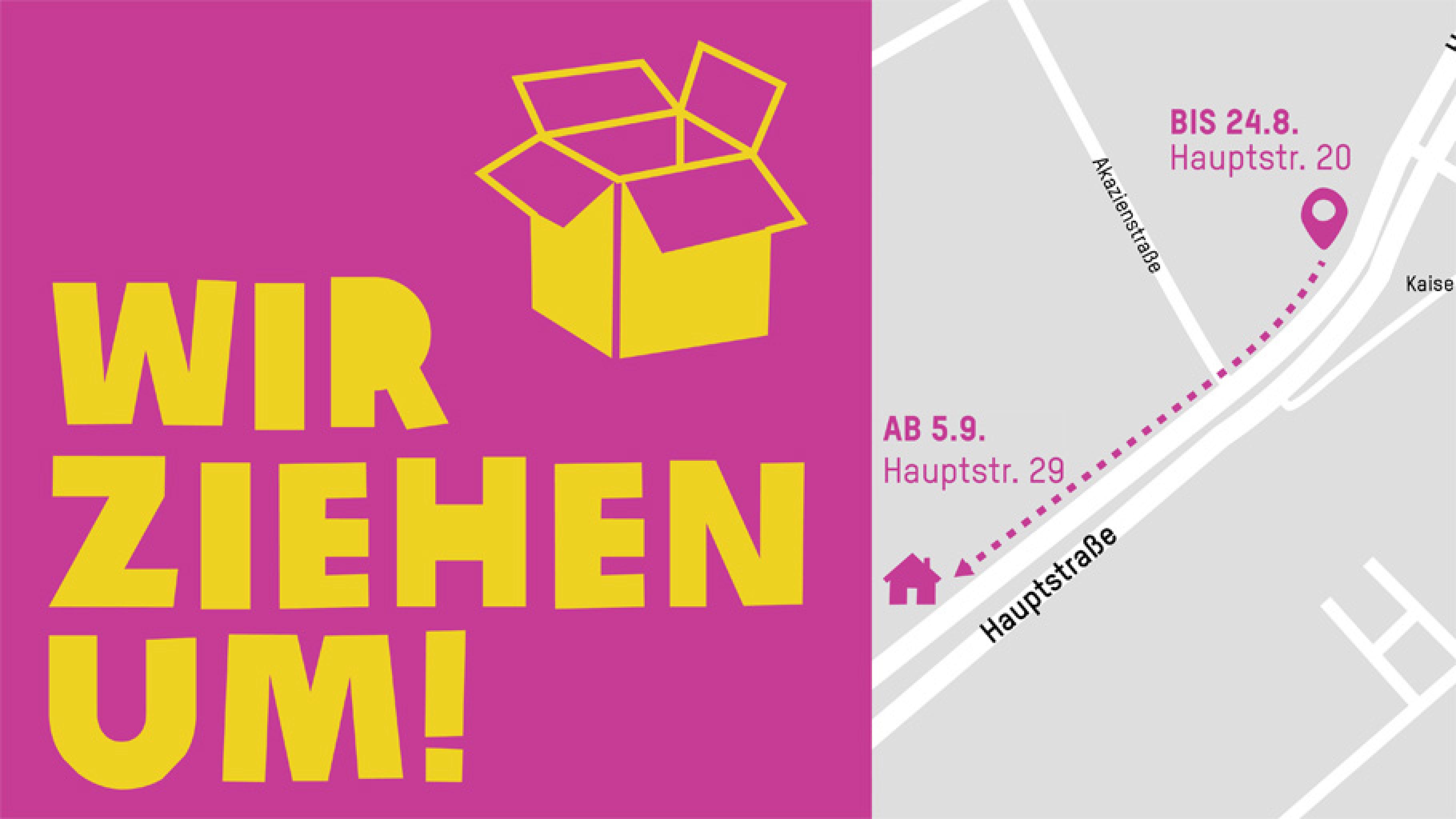 Oxfam Buchshop Berlin – Wir ziehen um