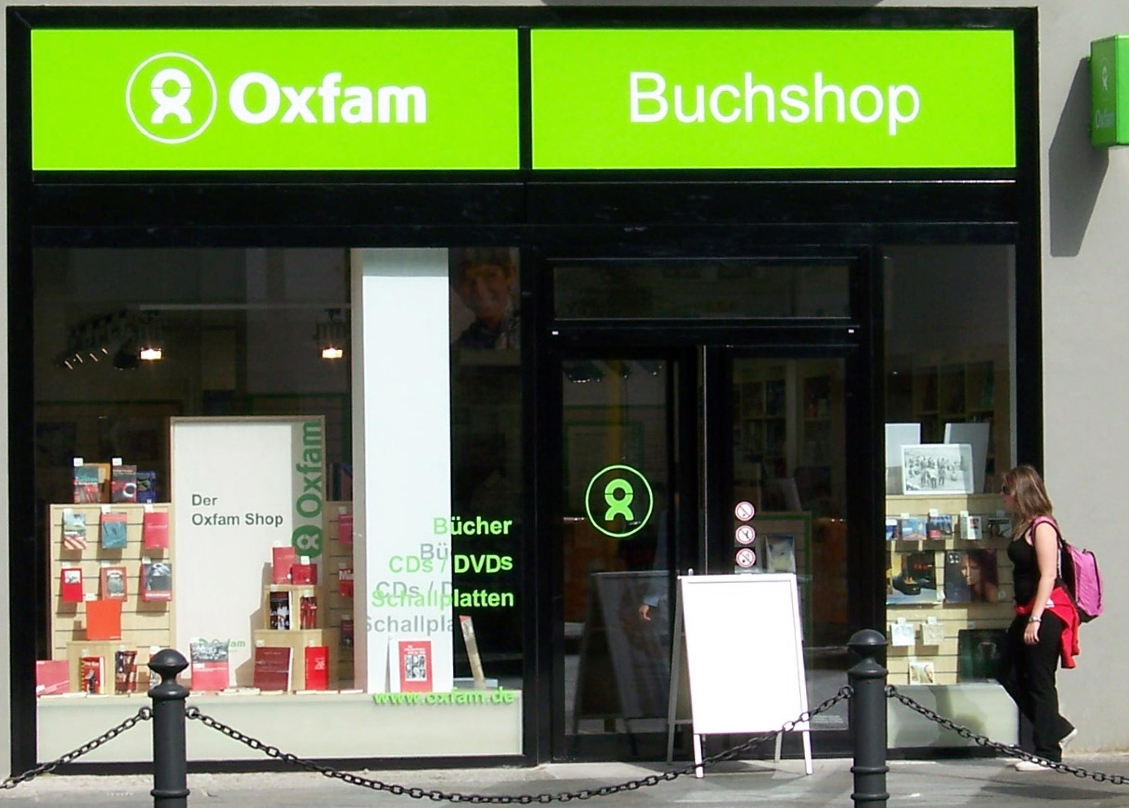 Zehn Jahre Oxfam Oxfam Buchshop