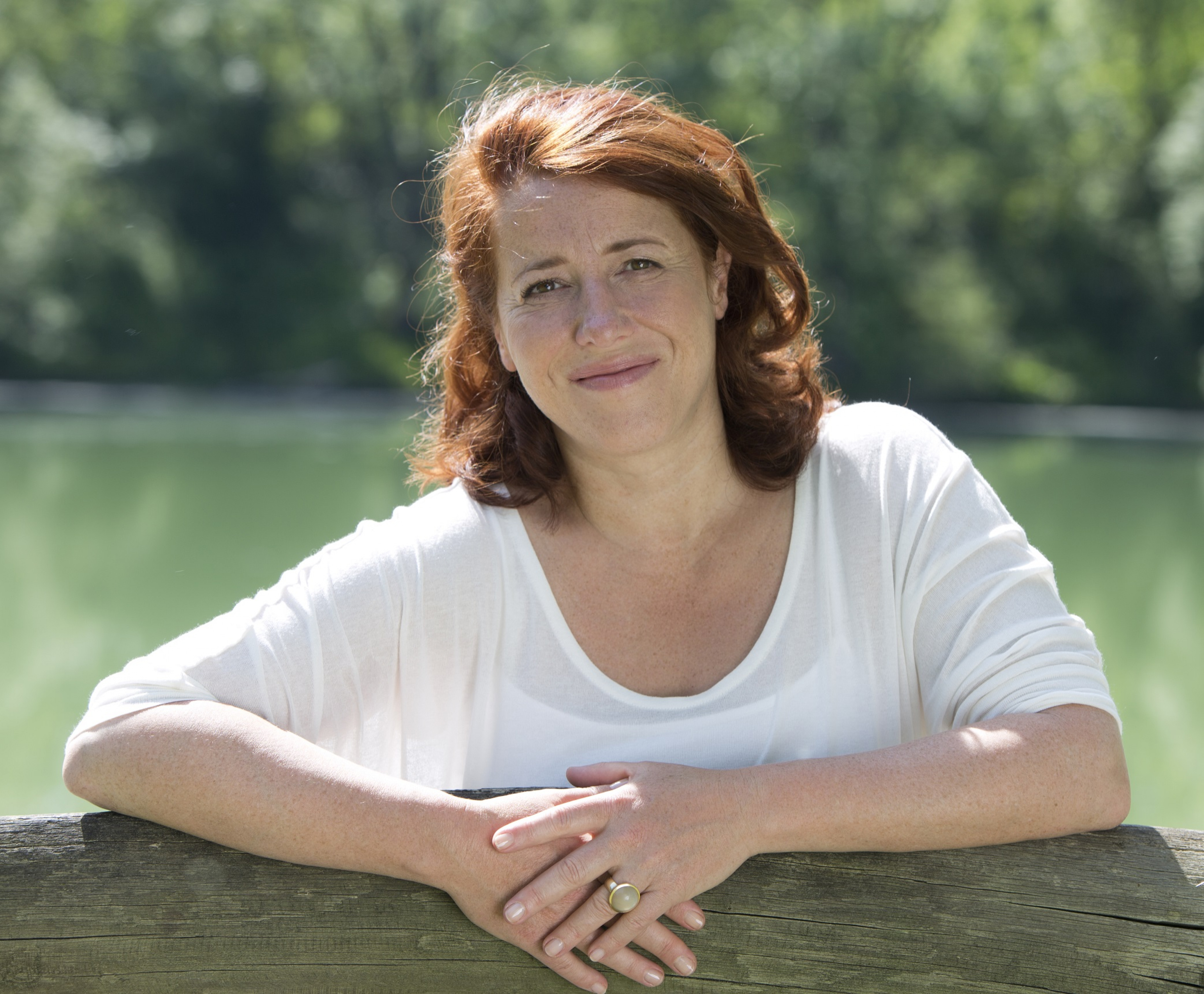 Kabarettistin und Oxfam-Kundin Luise Kinseher