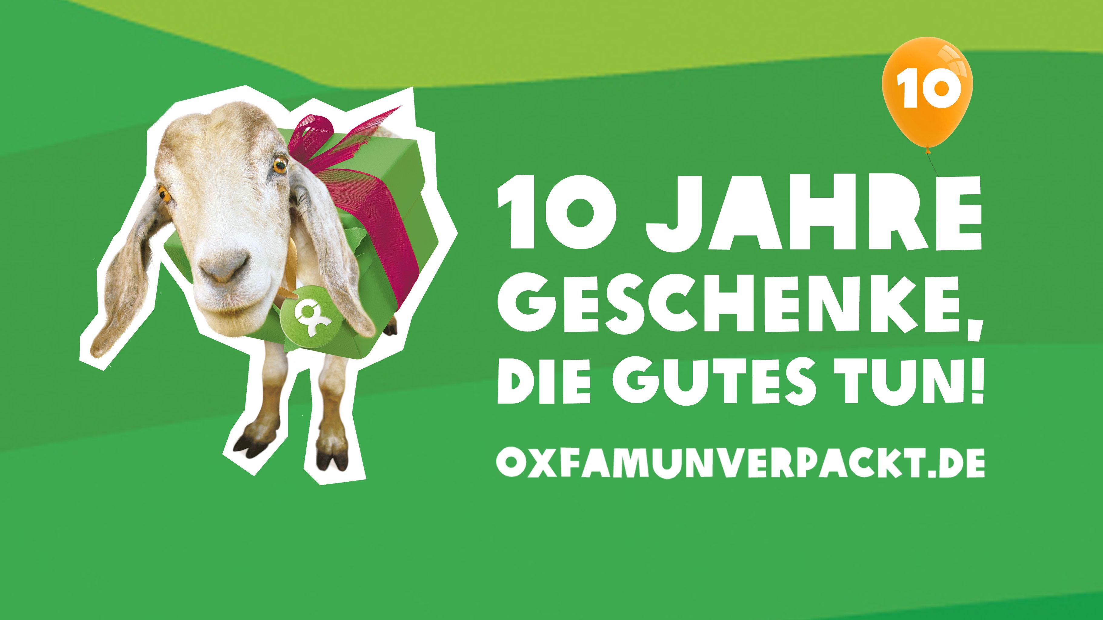 Zehn Jahre OxfamUnverpackt