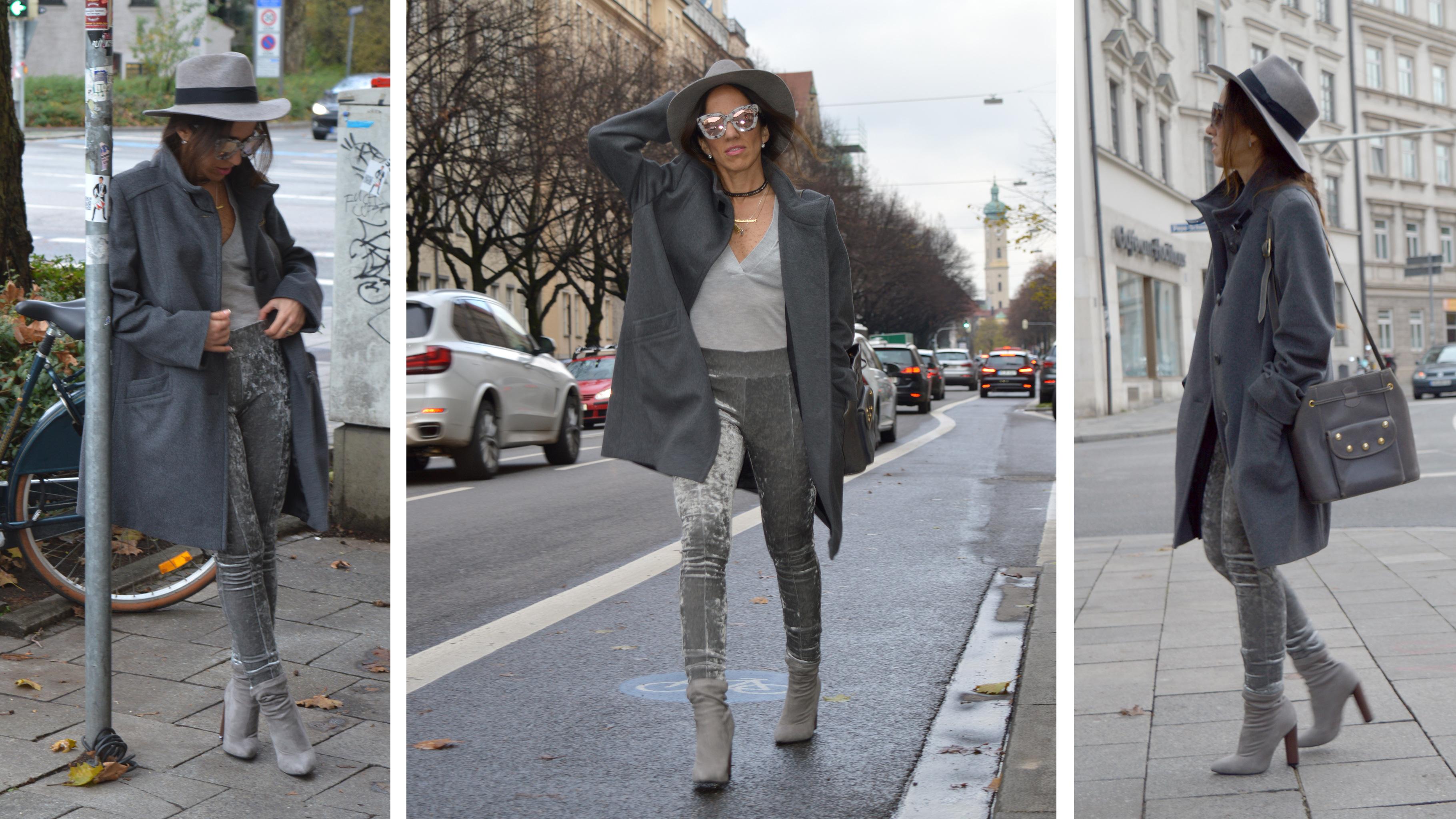 Wunderschön Grauer Mantel Kombinieren Ideen Von Total Shades Of Grey