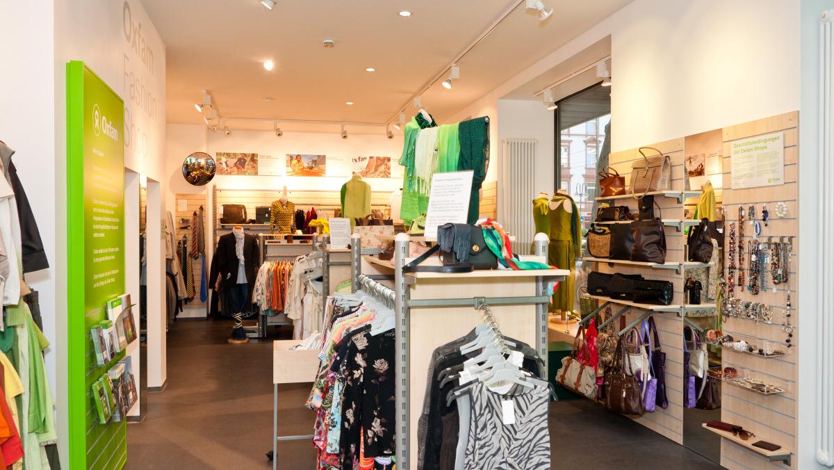 Oxfam Fashionshop Frankfurt-Sachsenhausen - Innenansicht