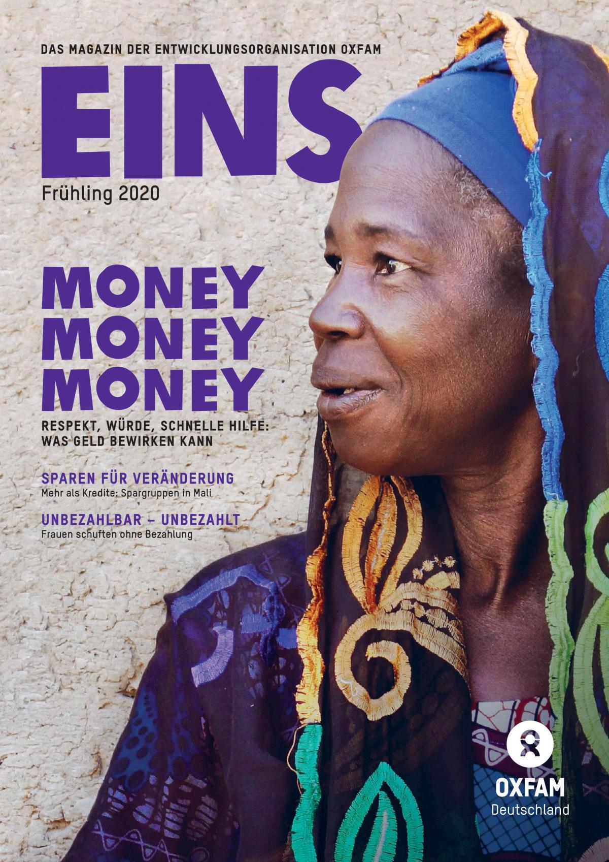 Titelbild der EINS-Frühlingsausgabe 2020