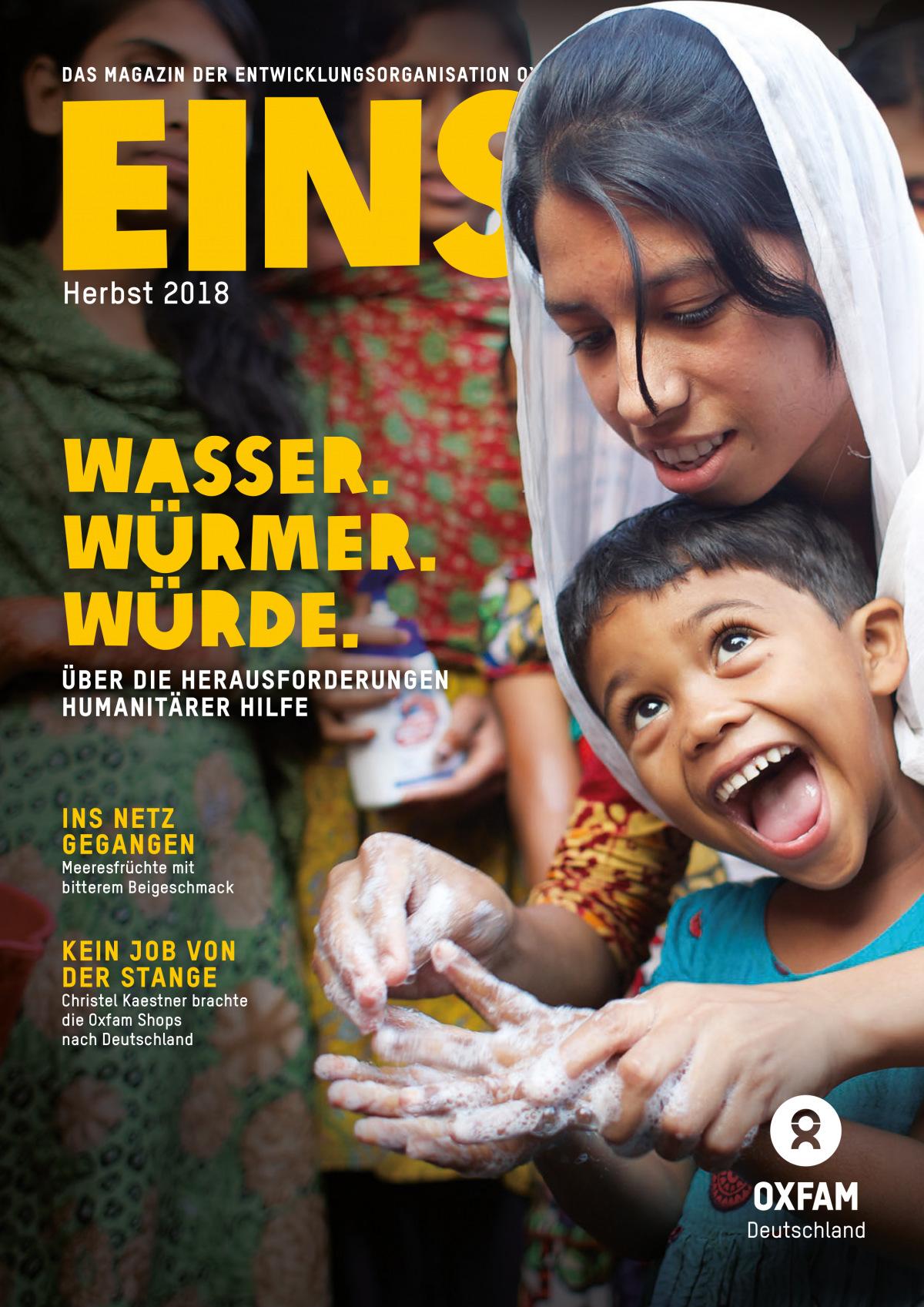 Titelbild der EINS-Herbstausgabe 2018